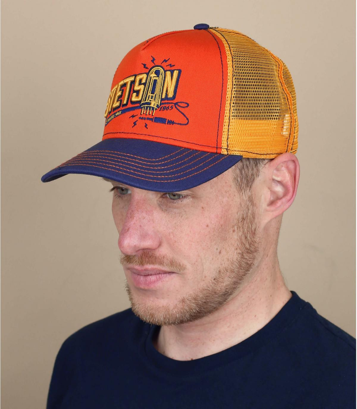 trucker naranja Stetson