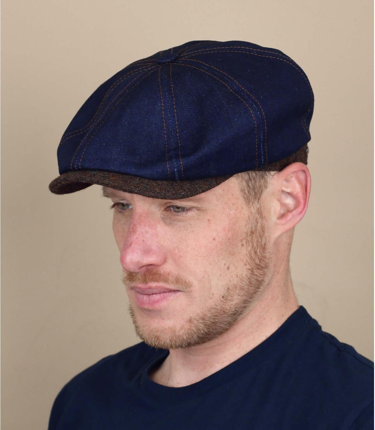 gorra repartidor azul denim