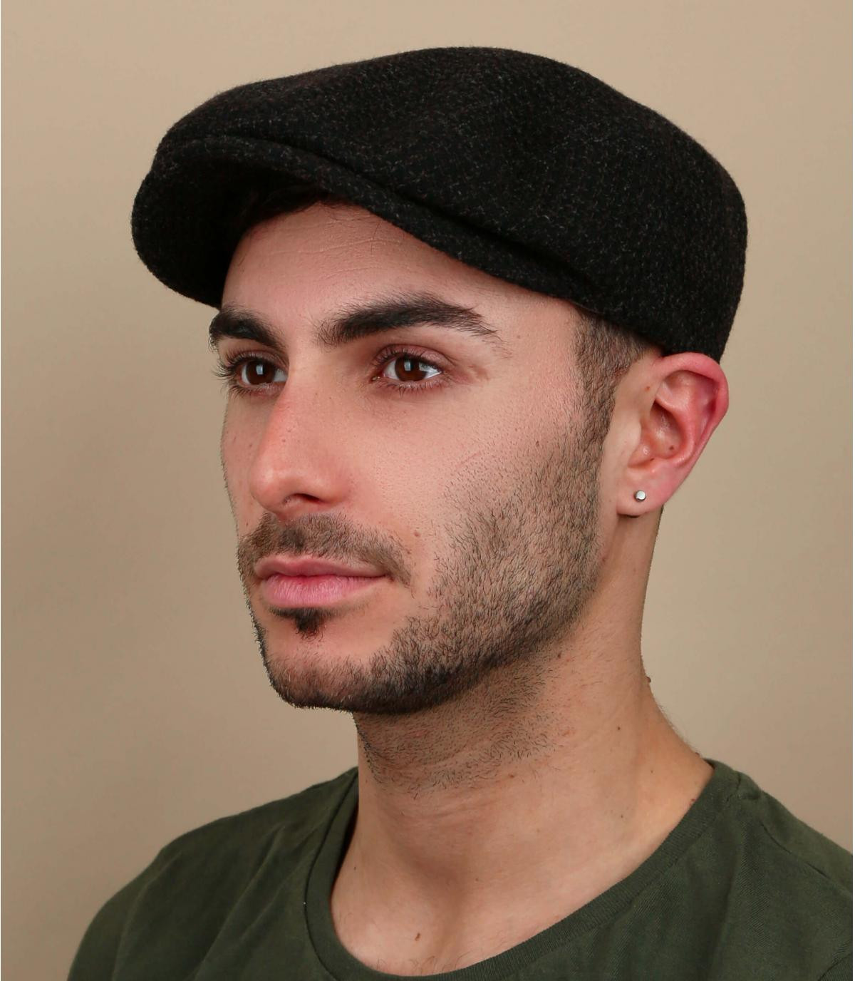 gorra marrón lana Stetson