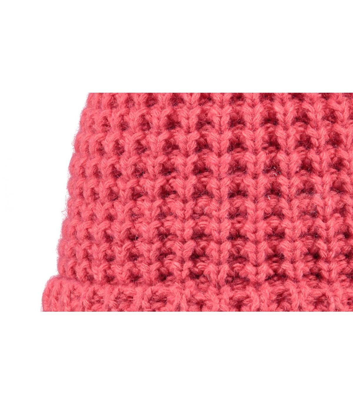 Detalles Gorro Bonnie rosa imagen 2