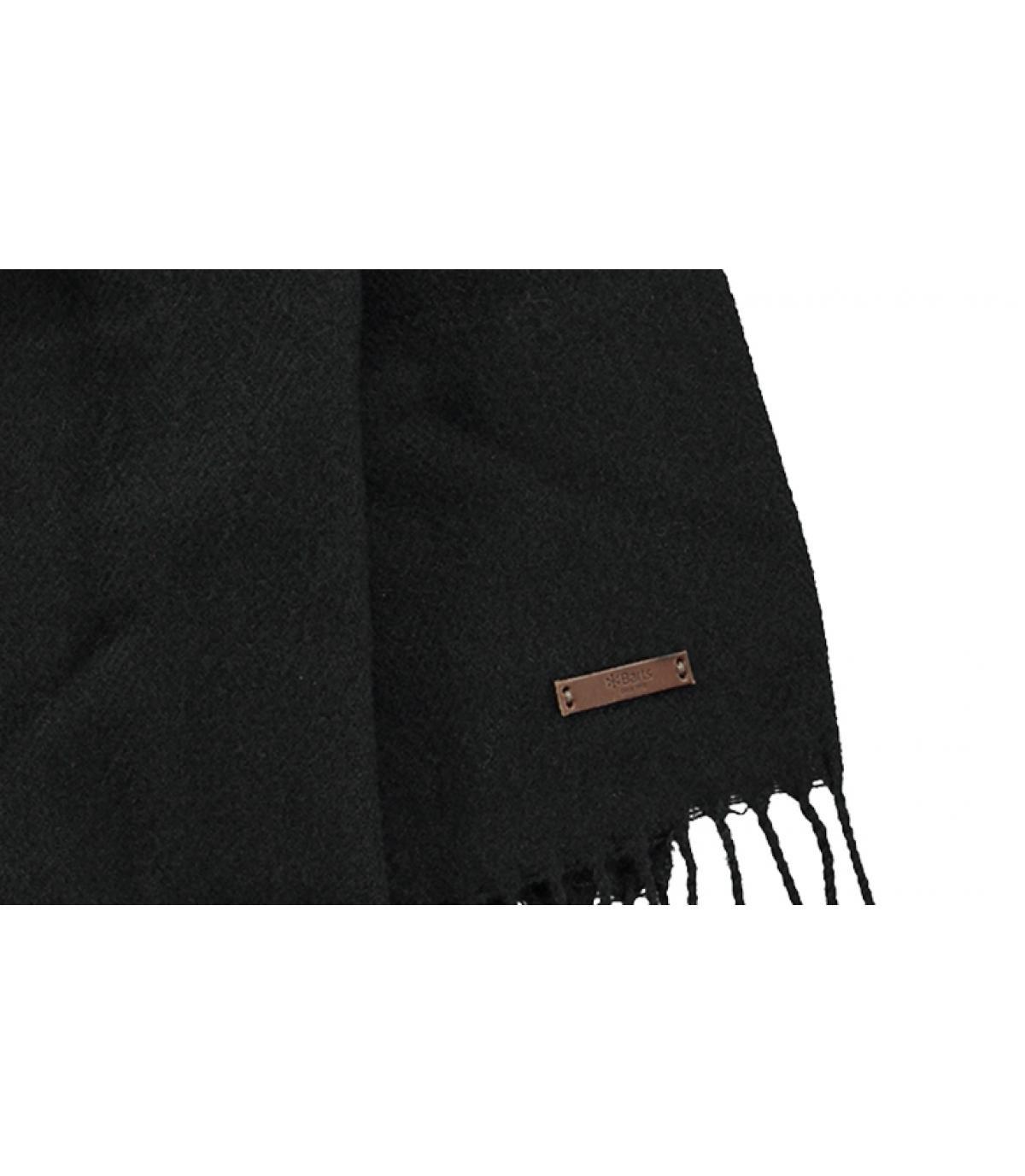 Detalles Soho scarf black imagen 2