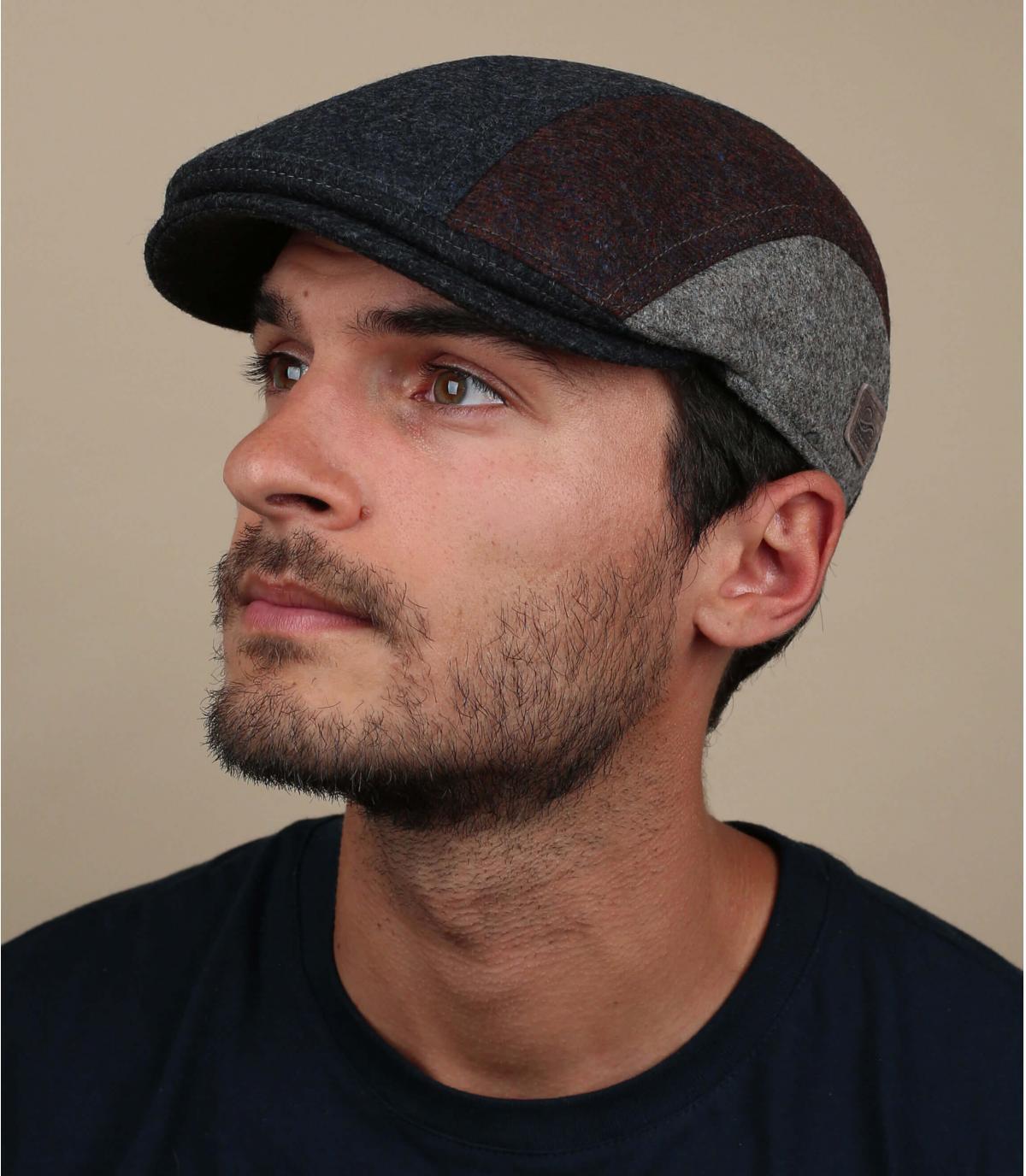 gorra lana azul protege orejas