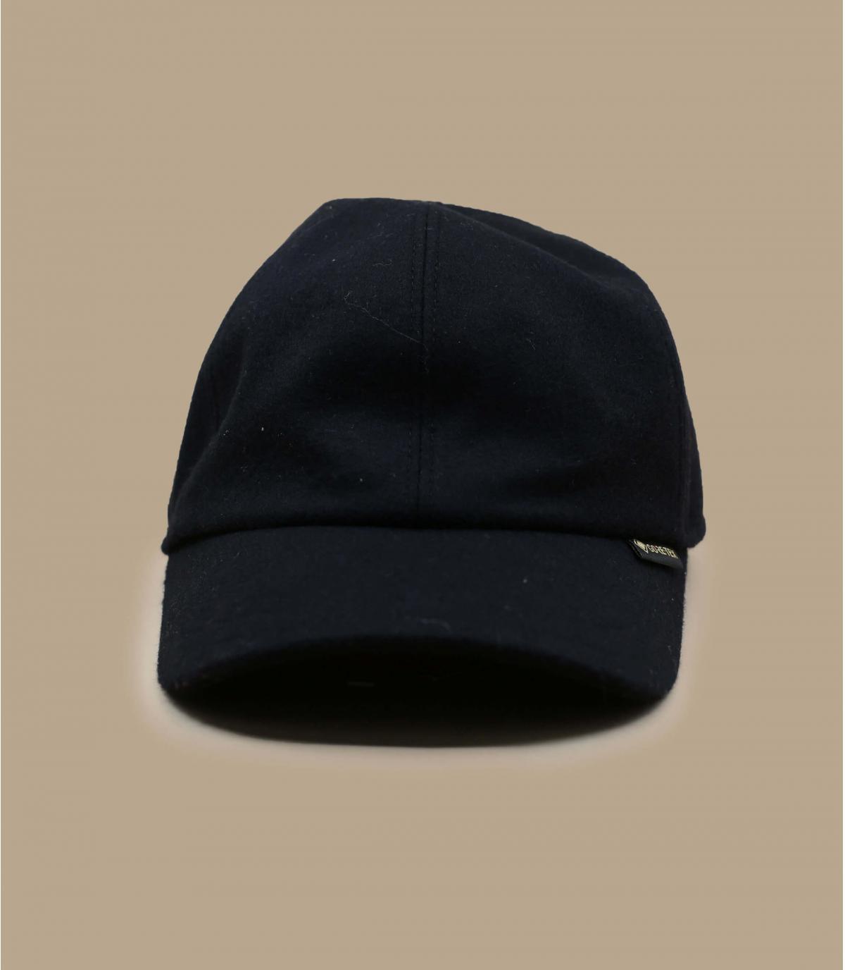 gorra Gore-Tex lana negro