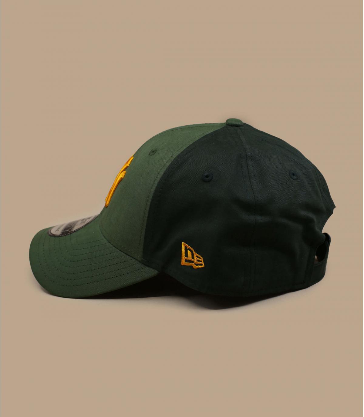 gorra NY verde amarillo