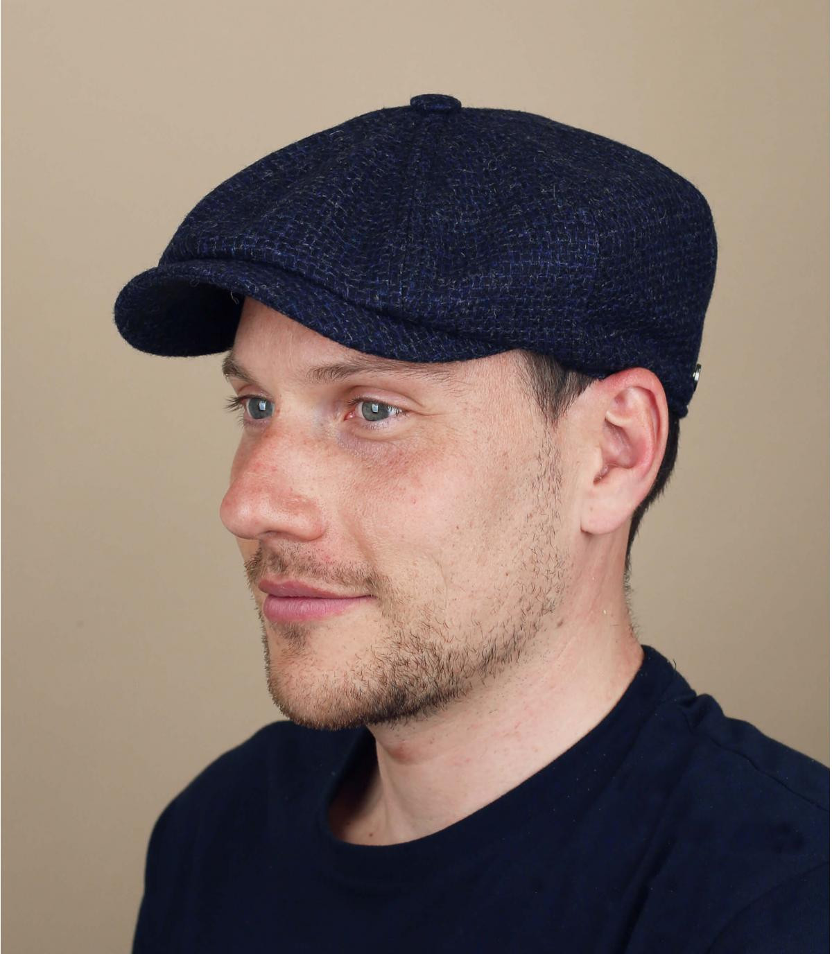 gorra repartidor azul lana