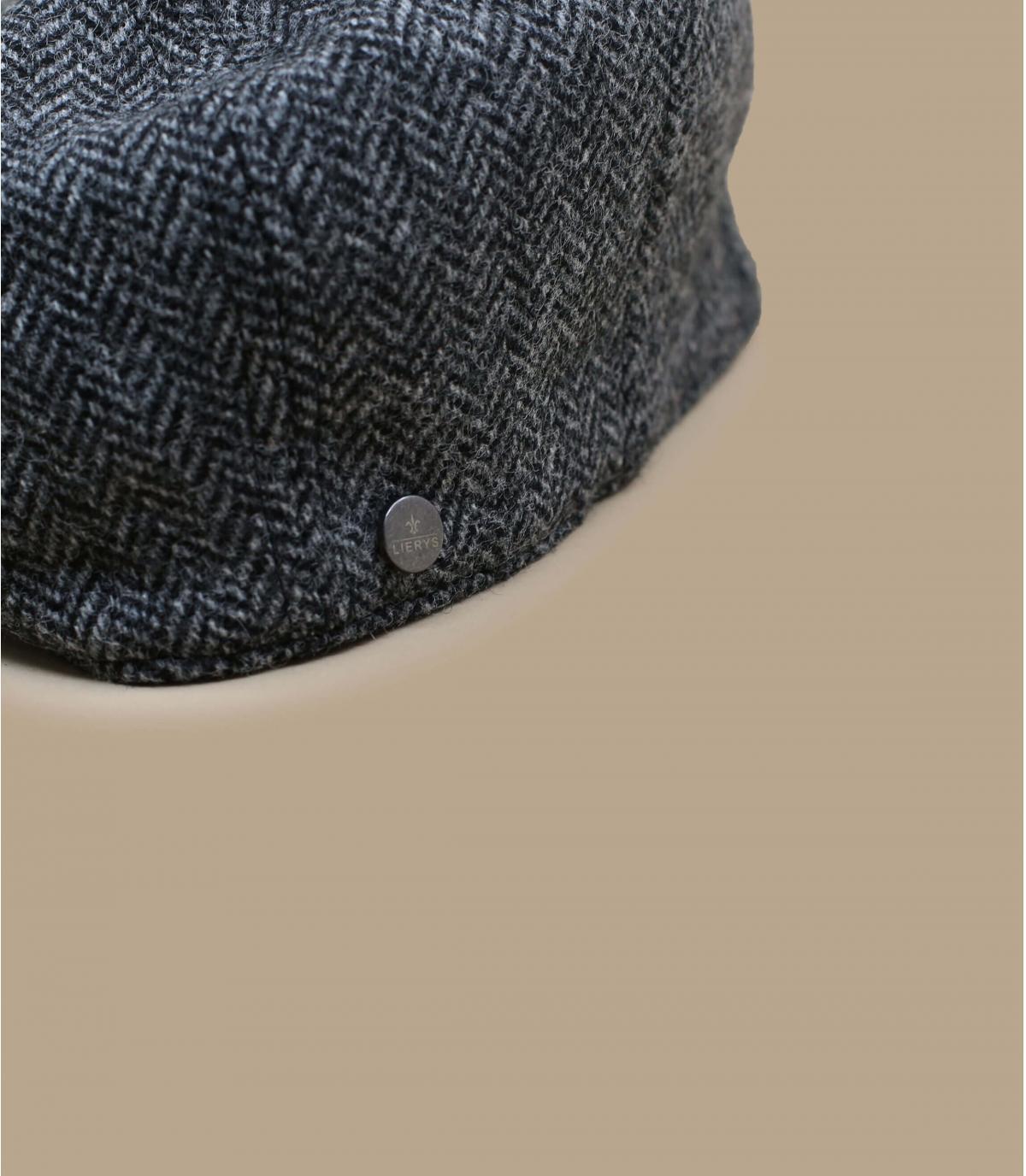 Detalles Britton Wool Herringbone grey imagen 2