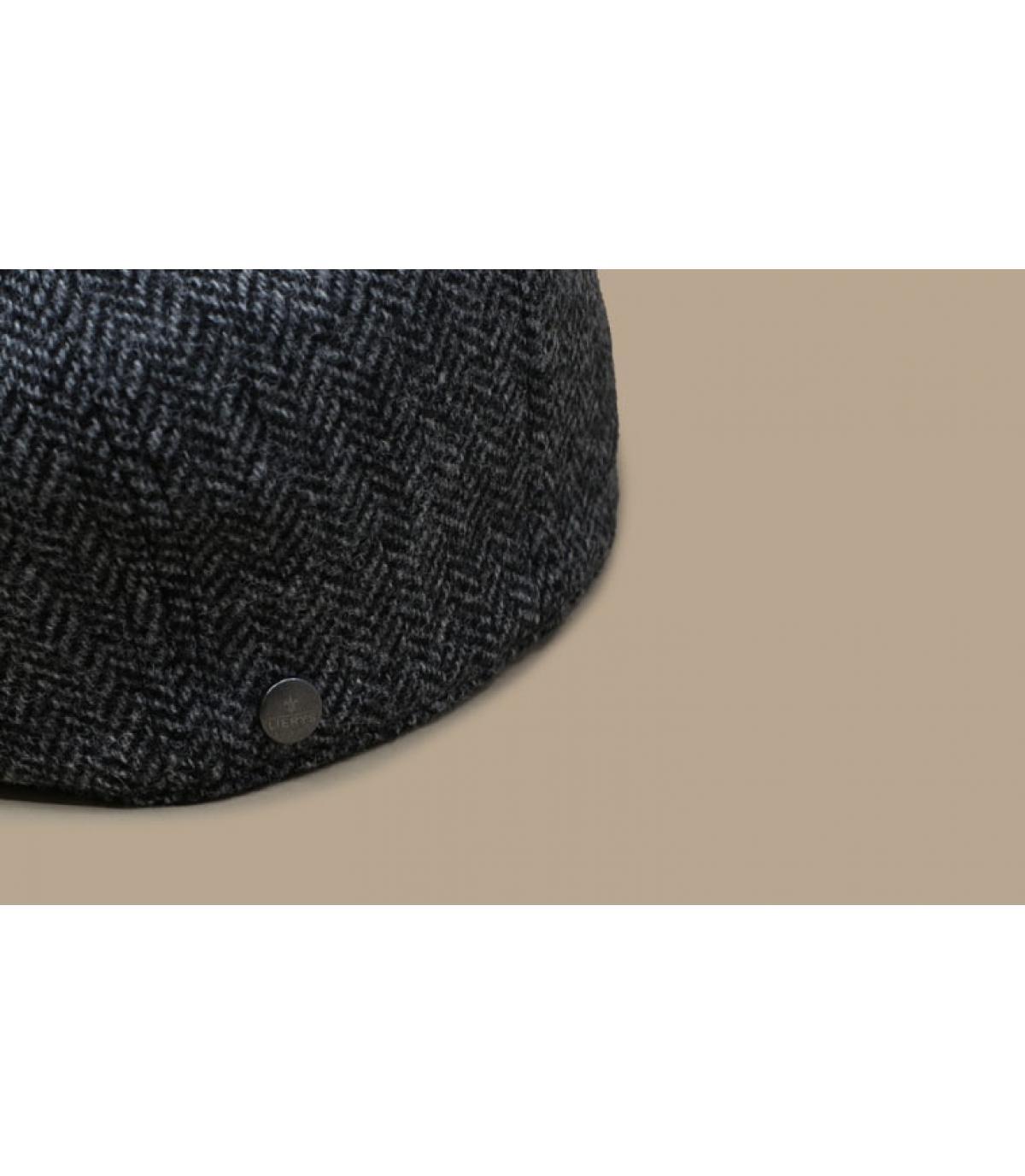 Detalles Britton Wool Herringbone grey imagen 3