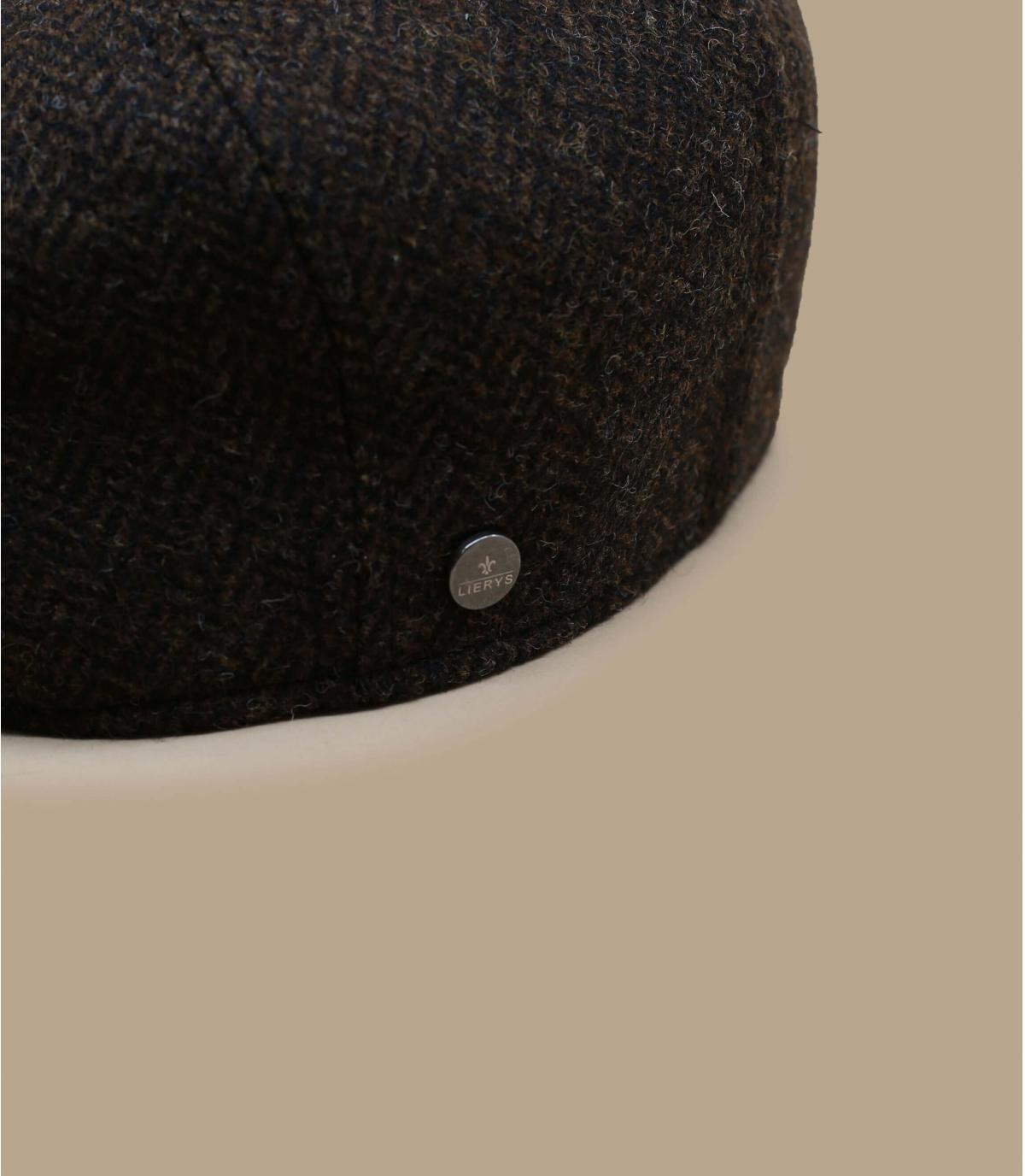 Detalles Britton Wool Herringbone brown imagen 2