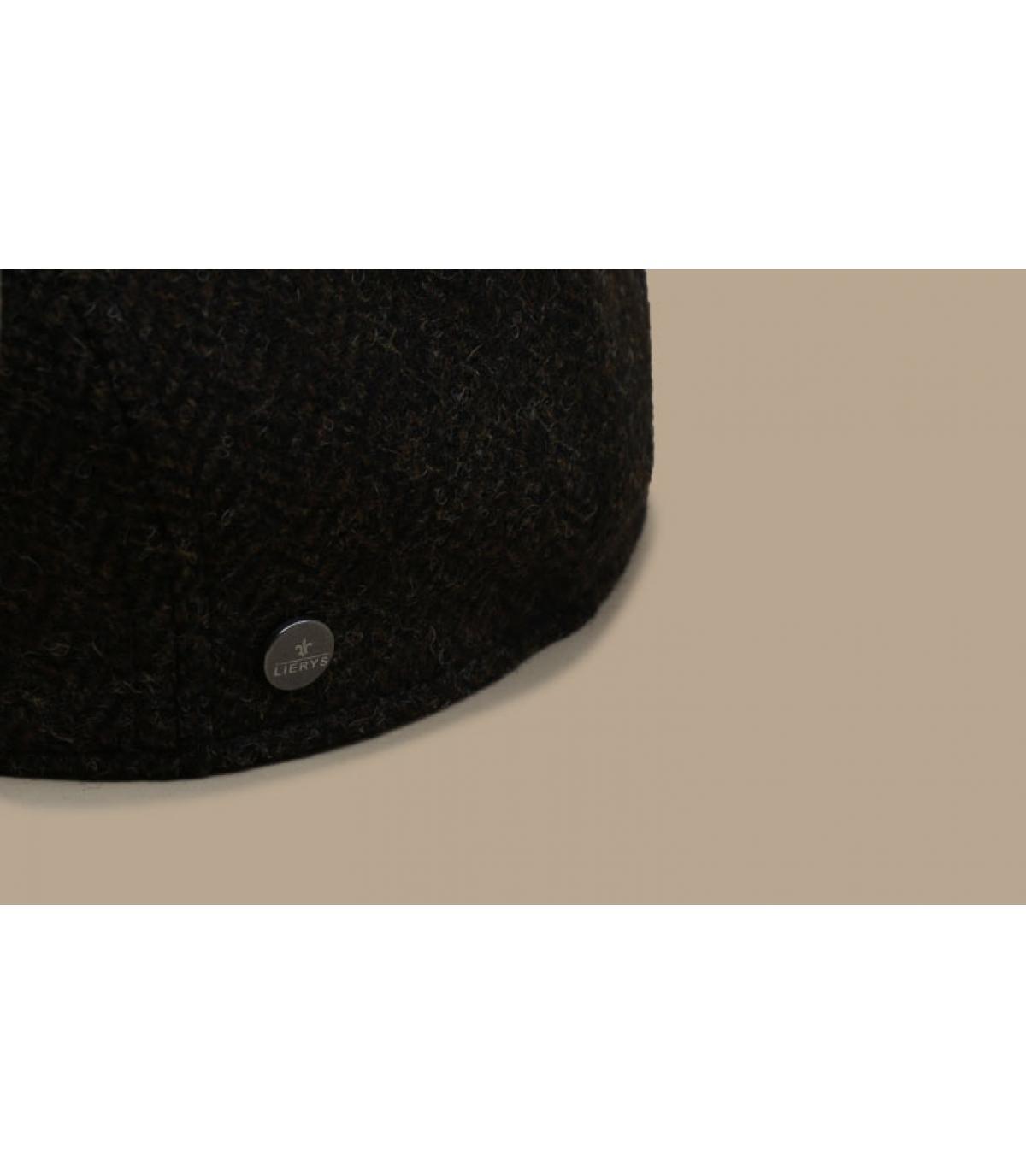 Detalles Britton Wool Herringbone brown imagen 3