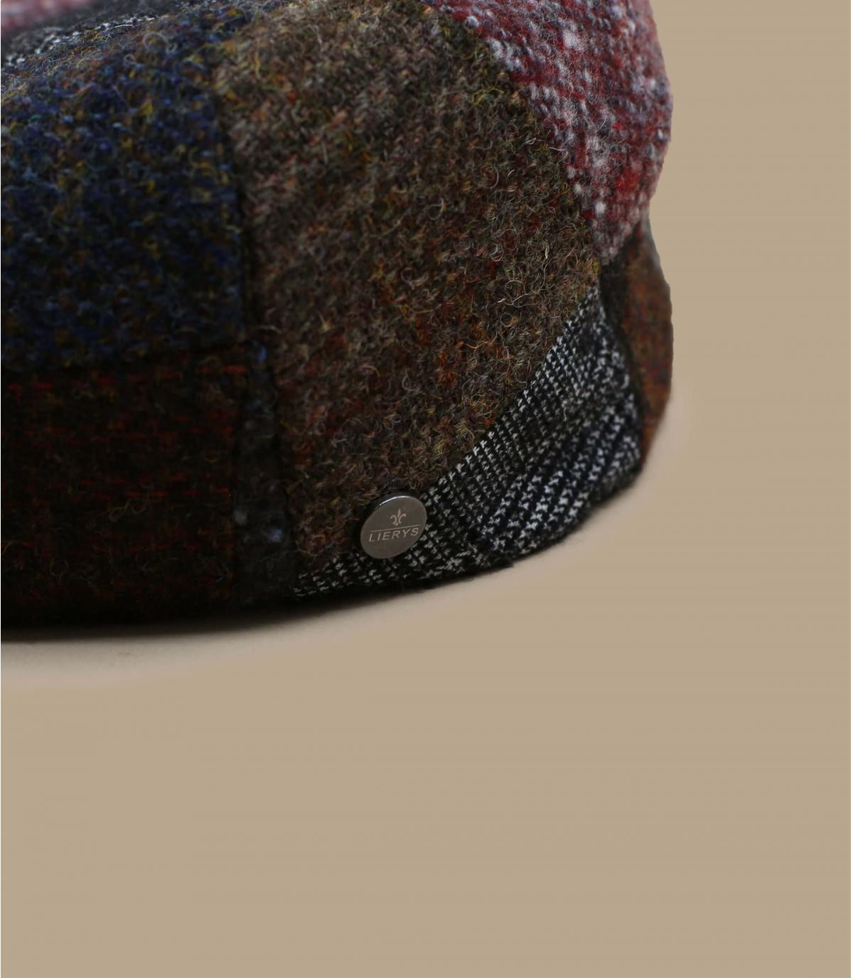 gorra patchwork lana