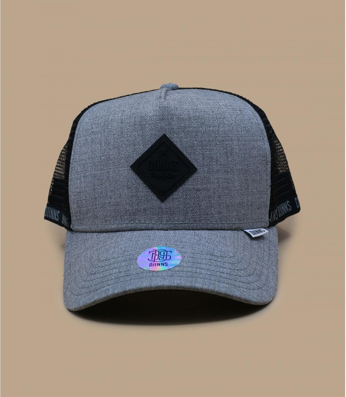 trucker Djinns gris negro