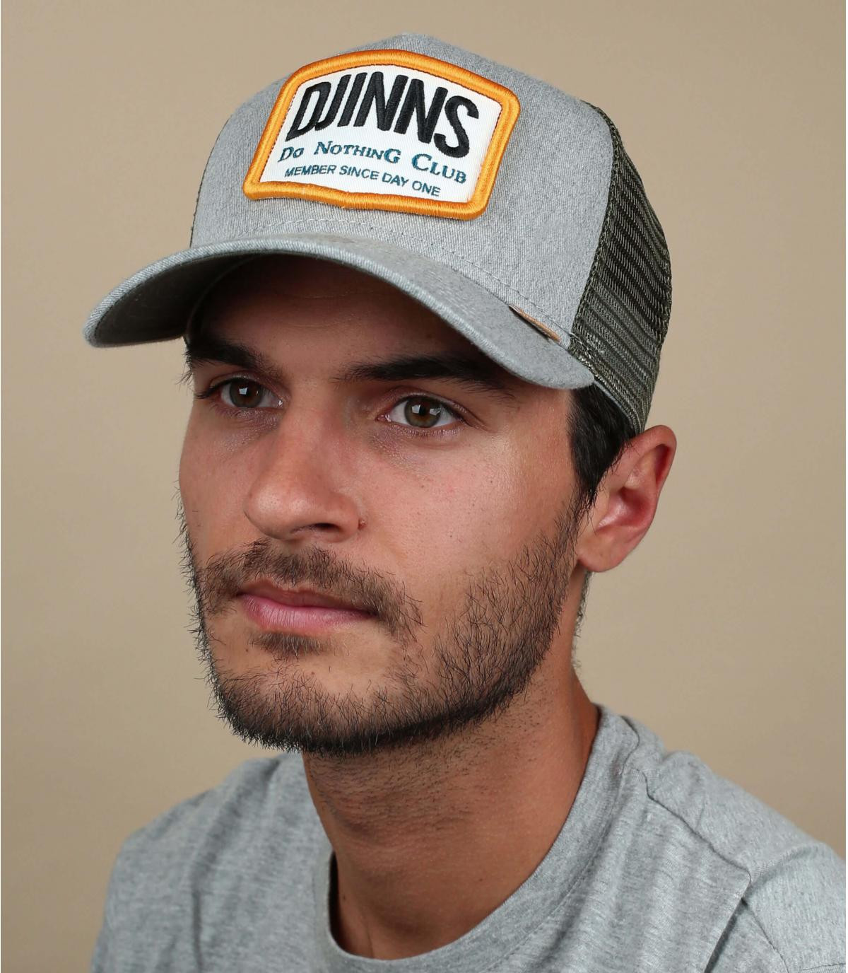 trucker Djinns gris