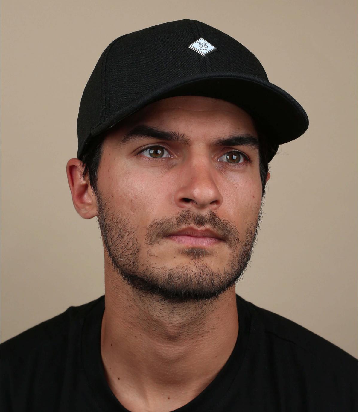 gorra negro lana Djinns