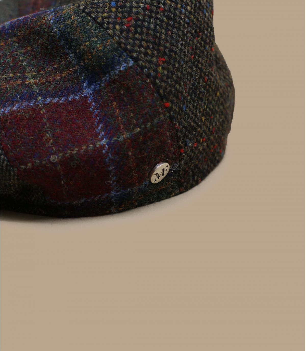 gorra repartidor patchwork lana