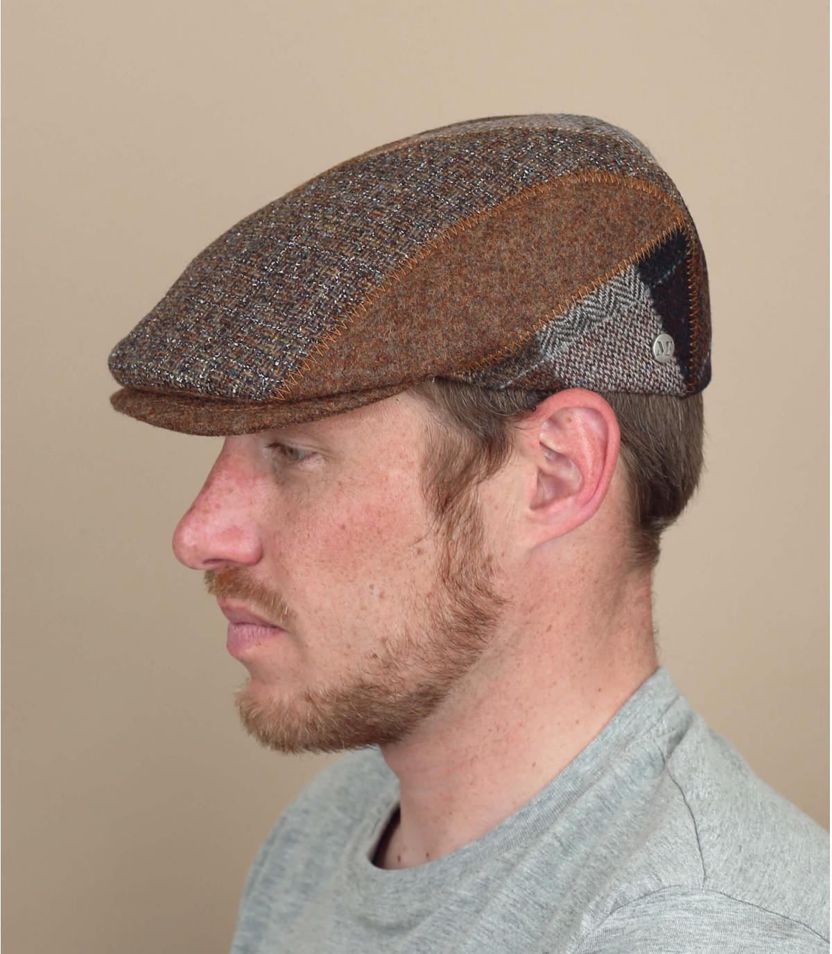 gorra lana marrón Fléchet