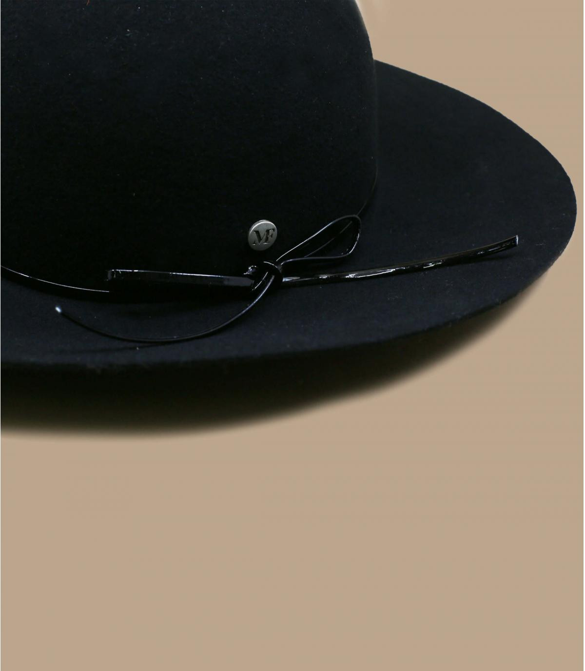 pamela fieltro negro plegable