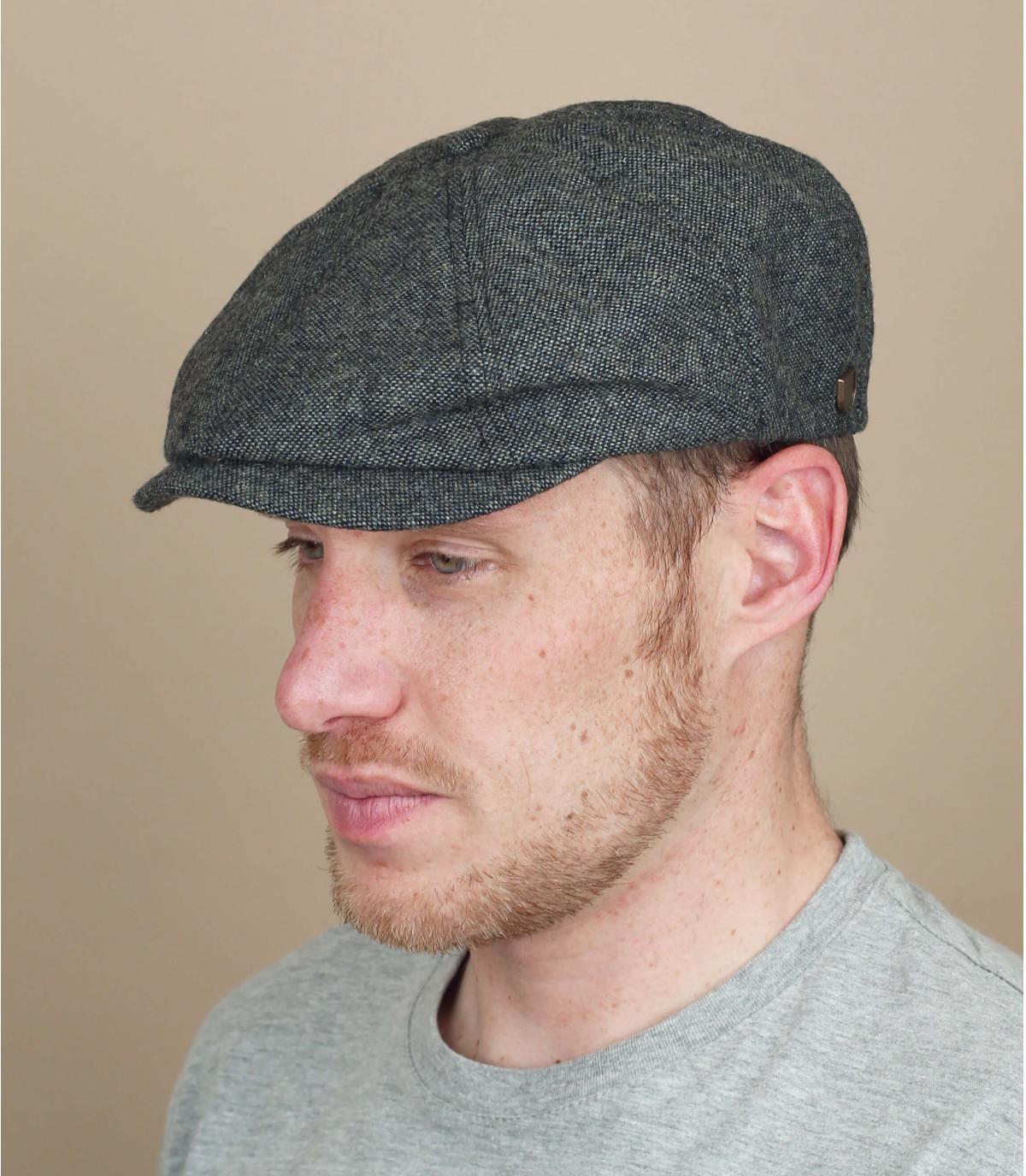gorra gris Brixton