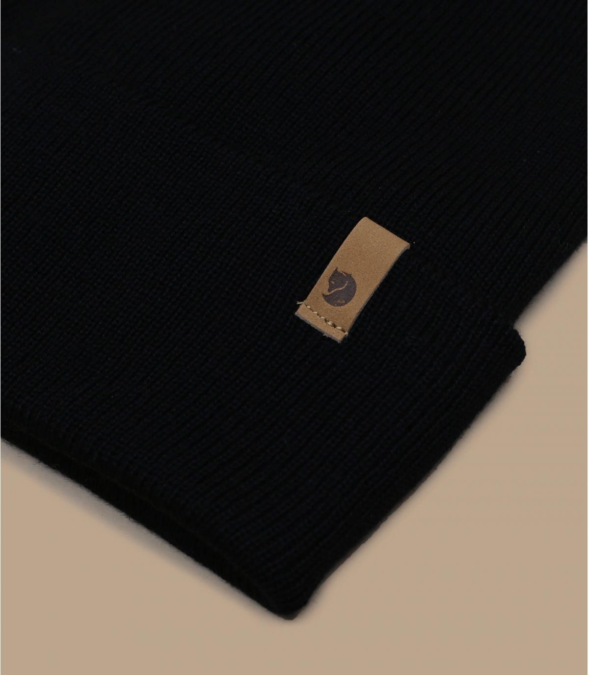 Detalles Classic Knit black imagen 2