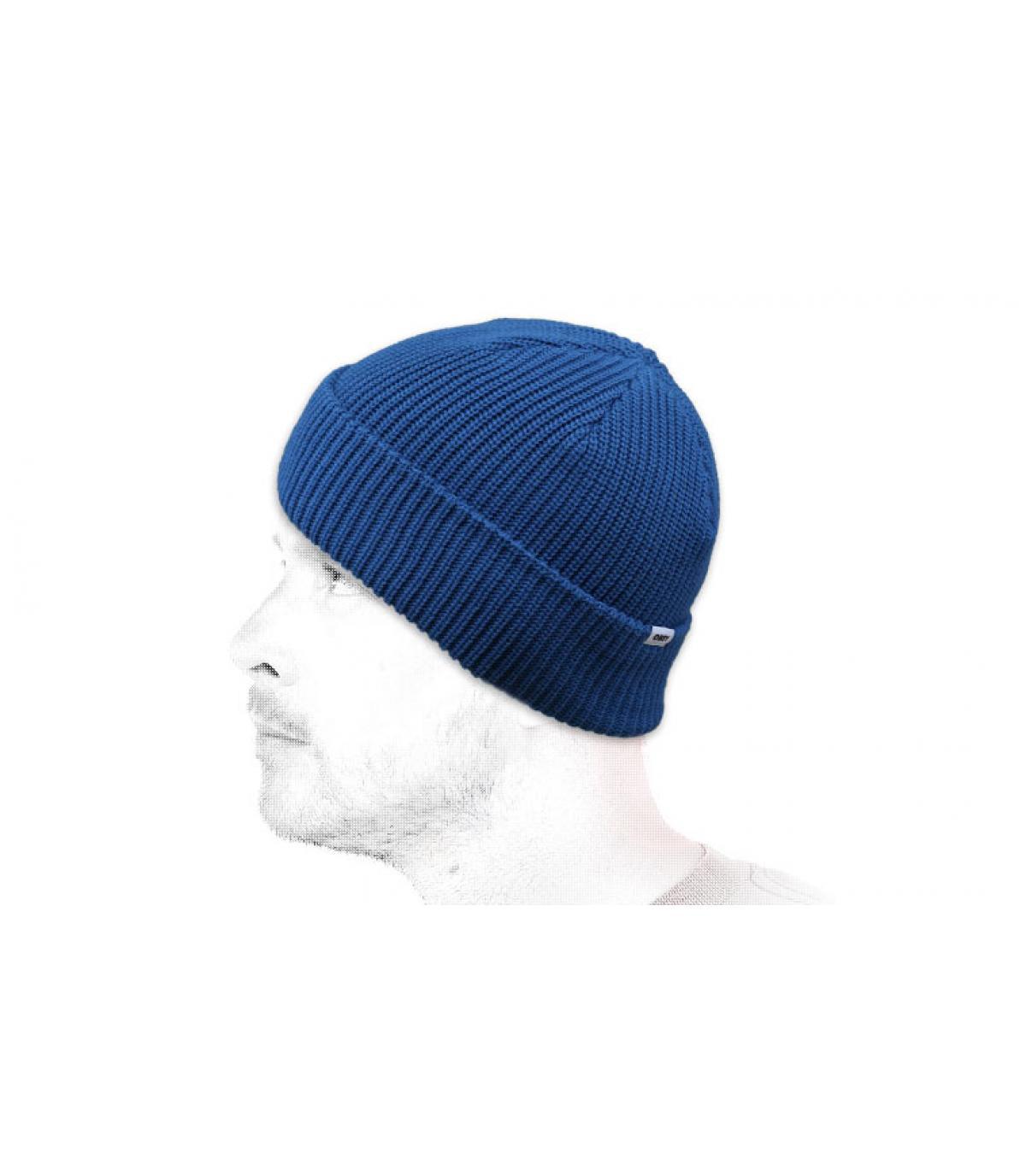 gorro azul Obey
