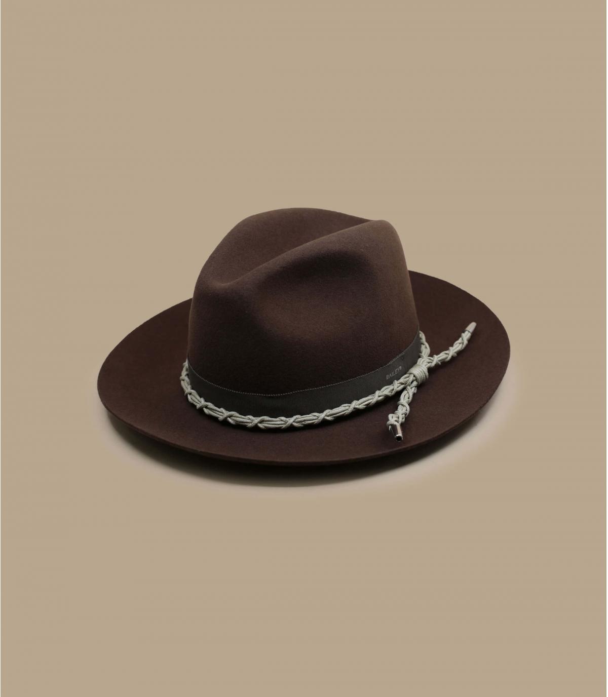 sombrero fieltro marrón Bailey