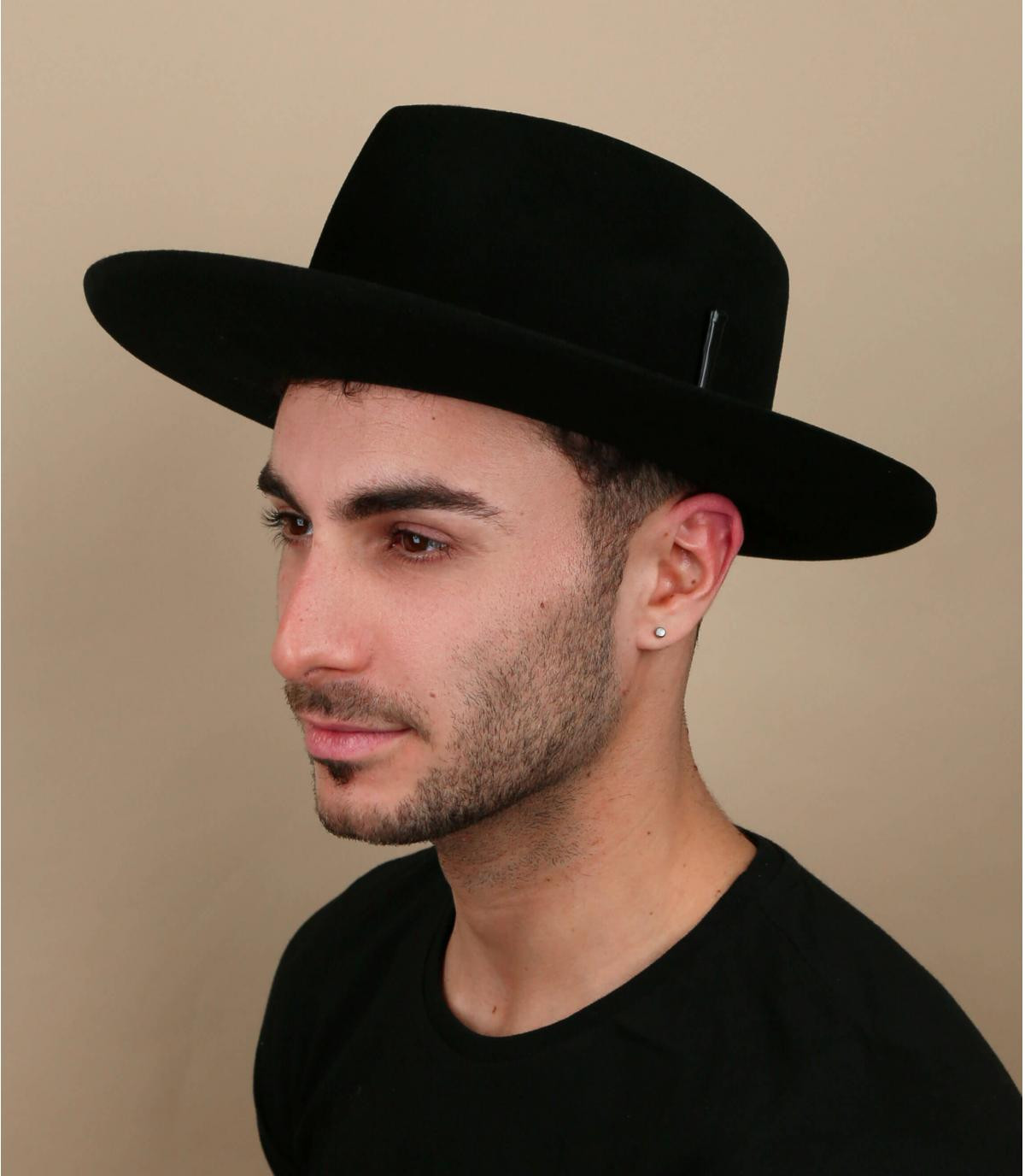 sombrero fieltro negro bailey