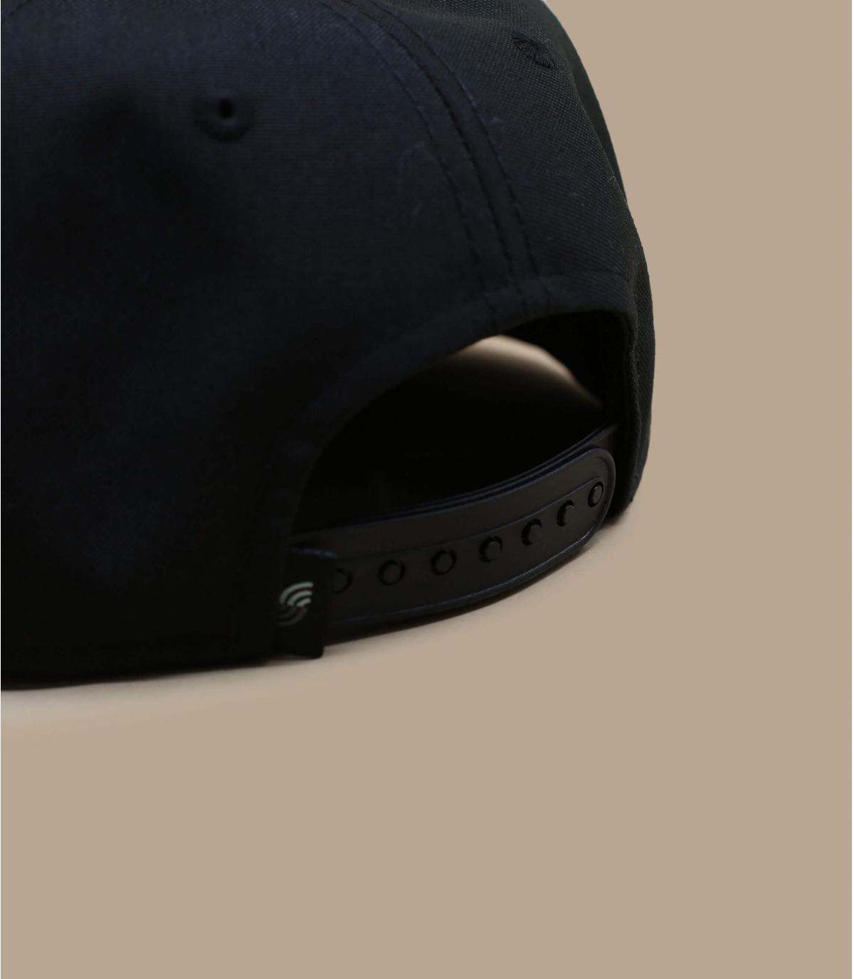 Detalles Snapback Recycled black imagen 4