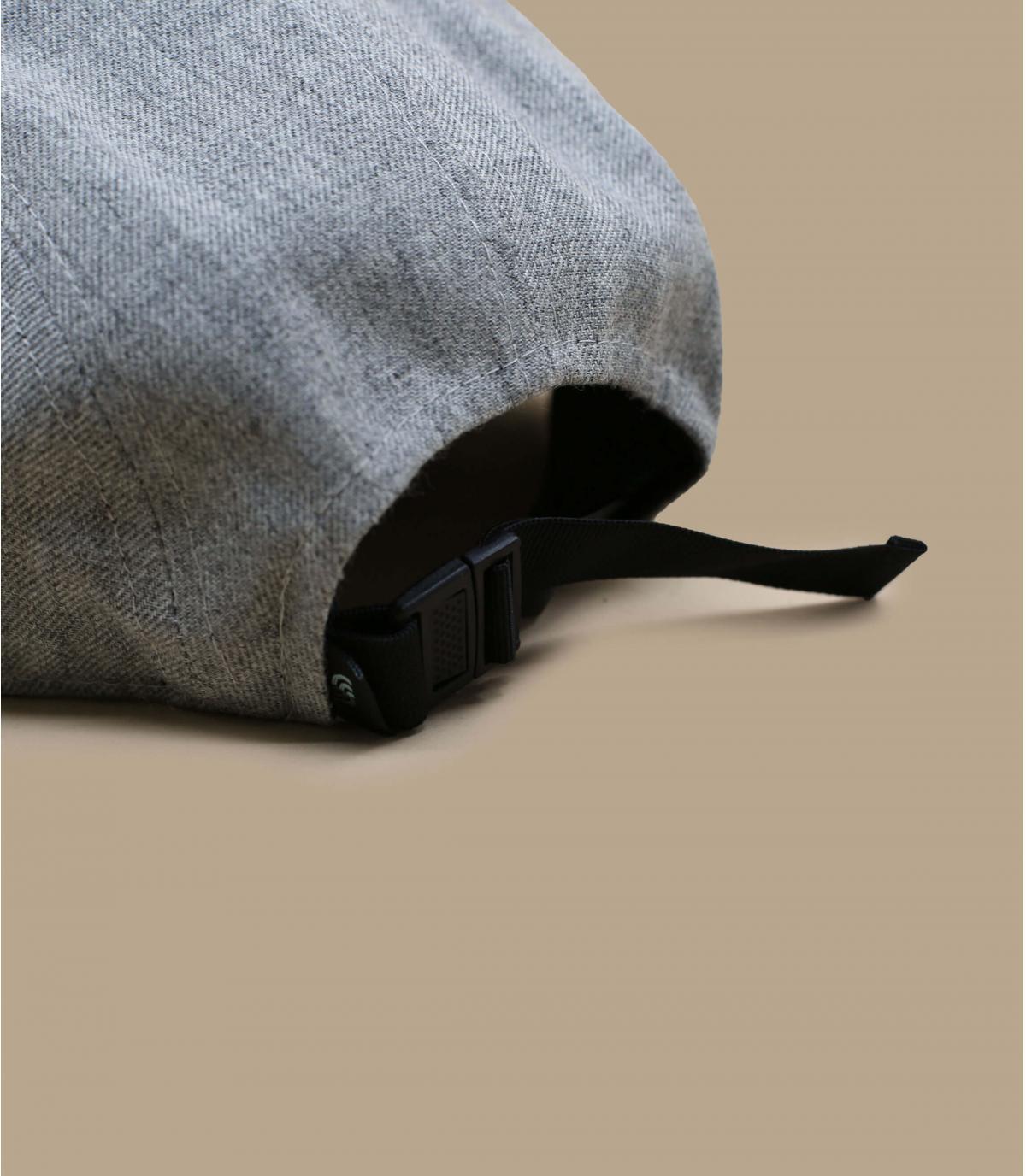 Detalles 5Panel Recycled heather grey imagen 4