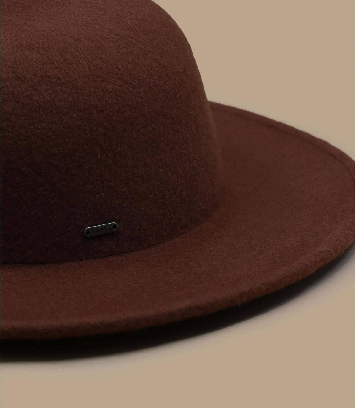 pamela marrón fieltro
