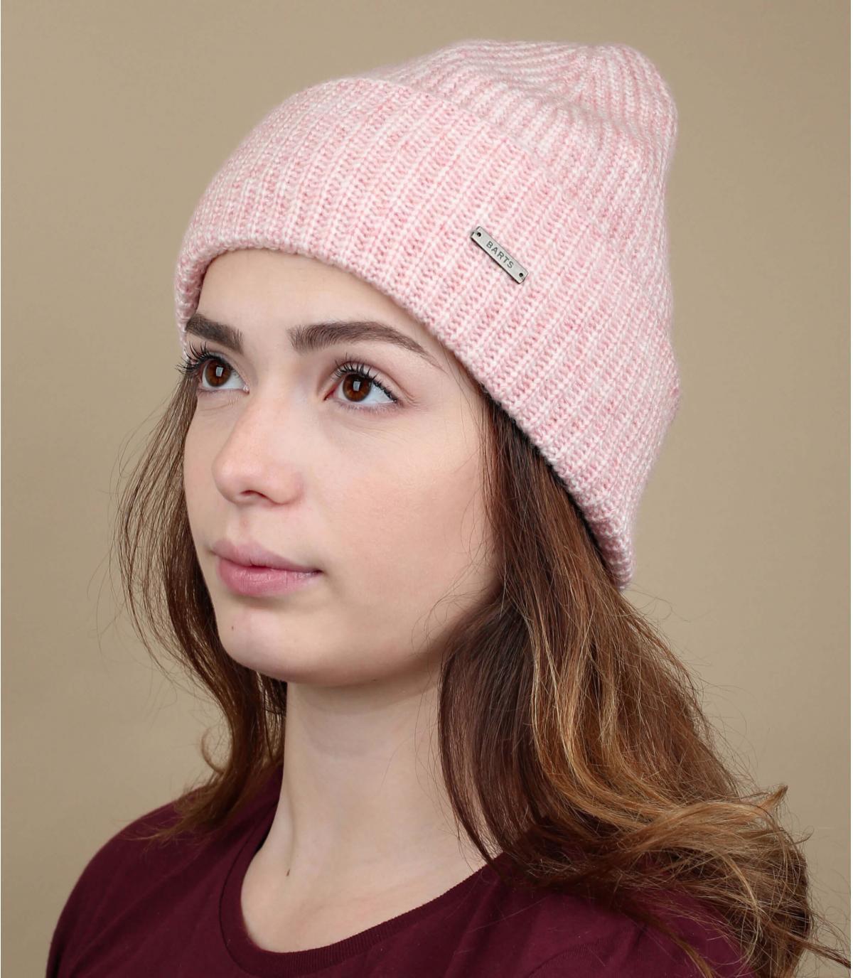 gorro rosa puño
