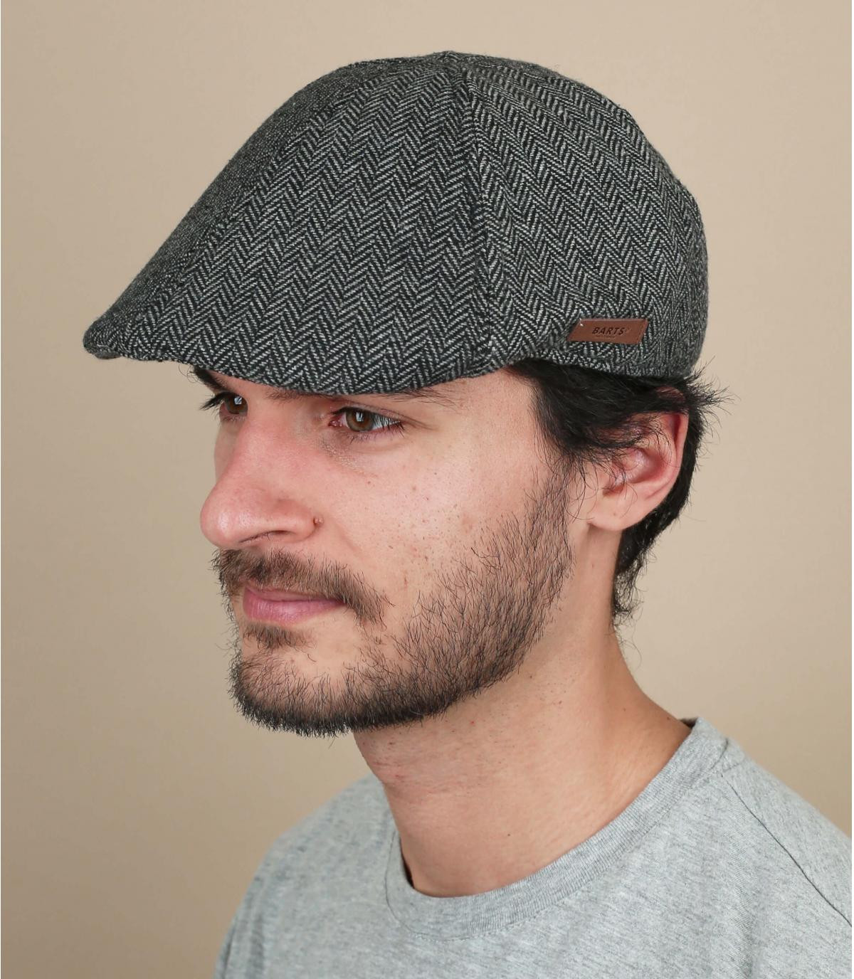 gorra lana negro Barts