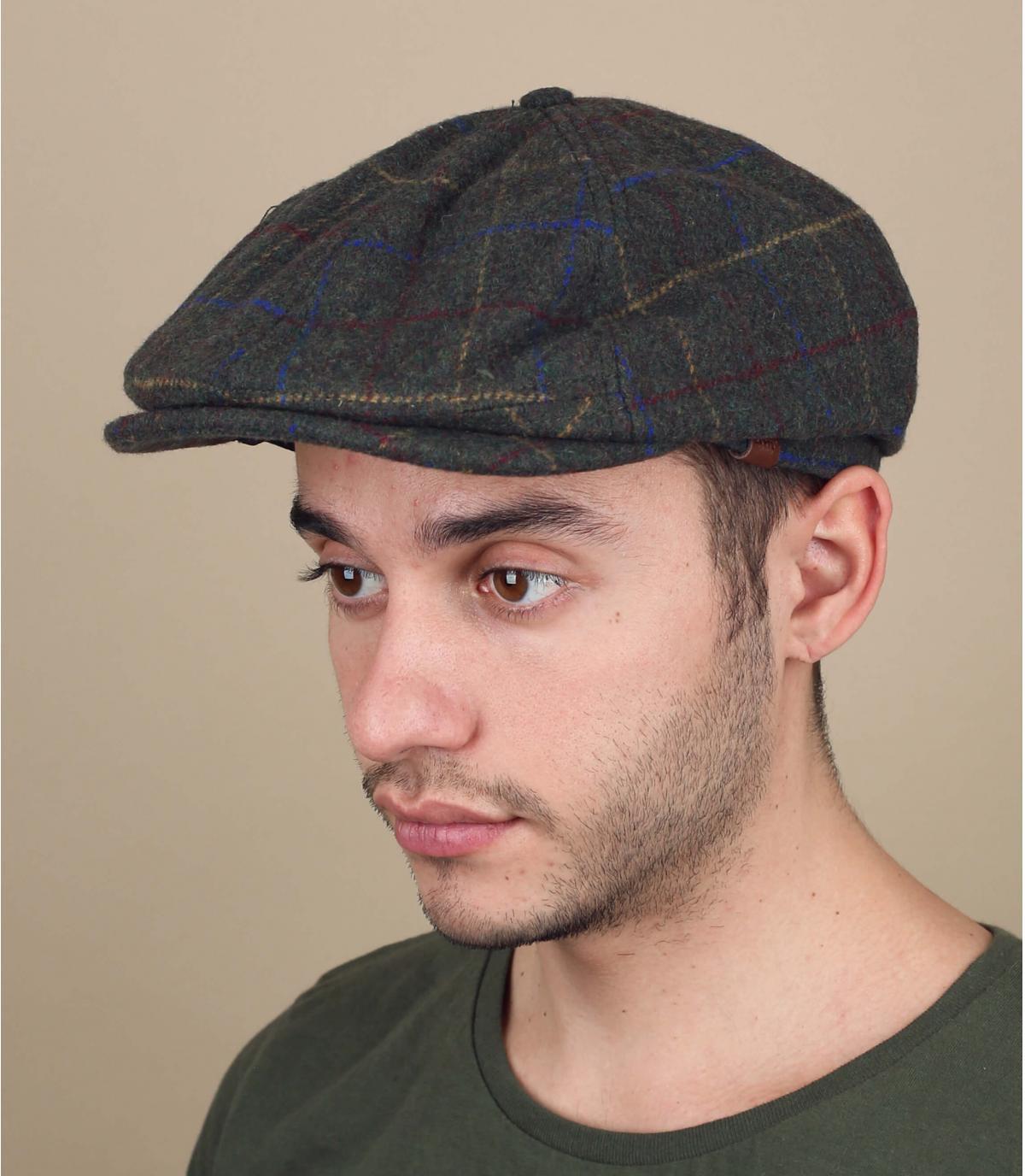 gorra repartidor verde