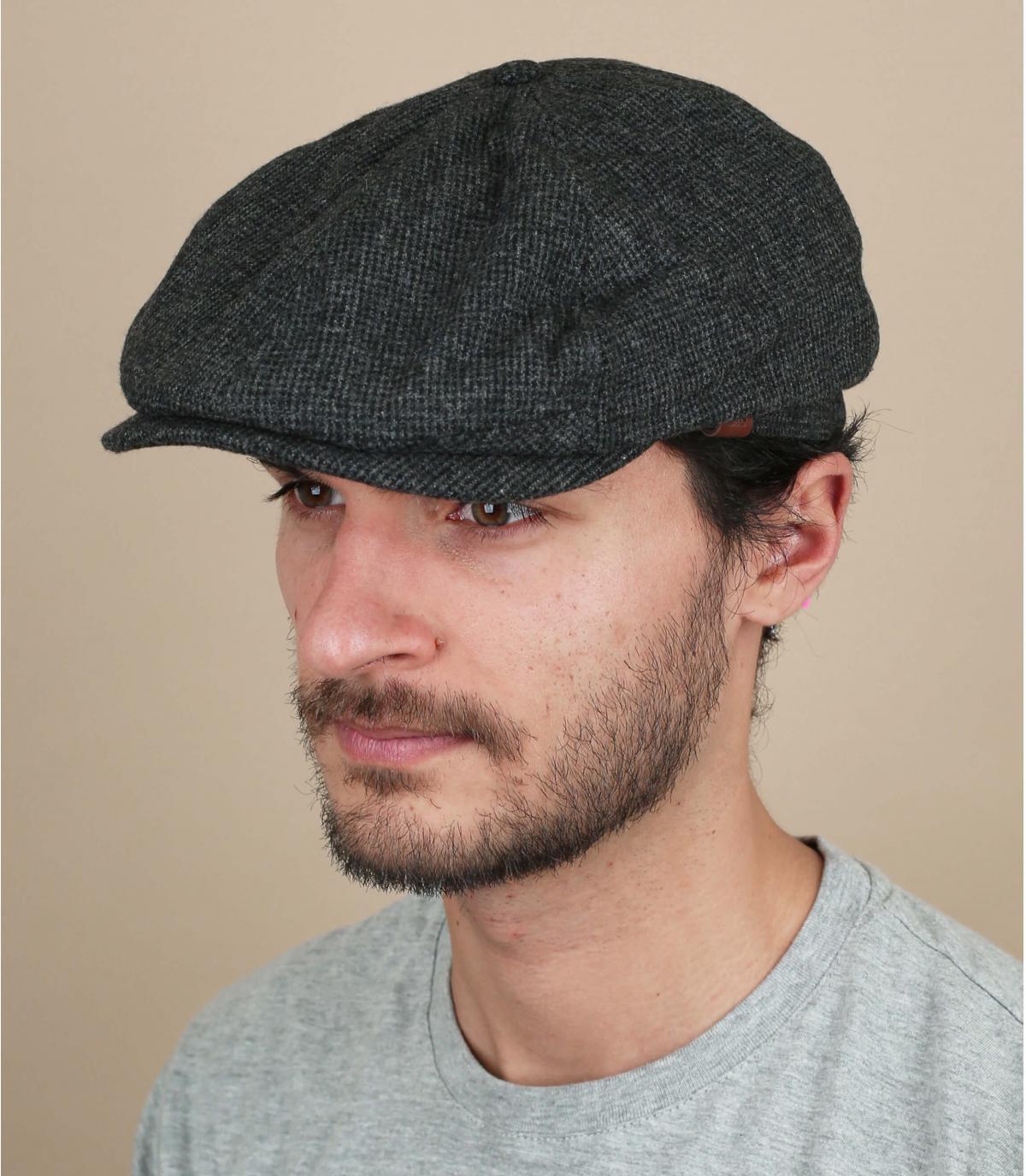 gorra repartidor gris lana