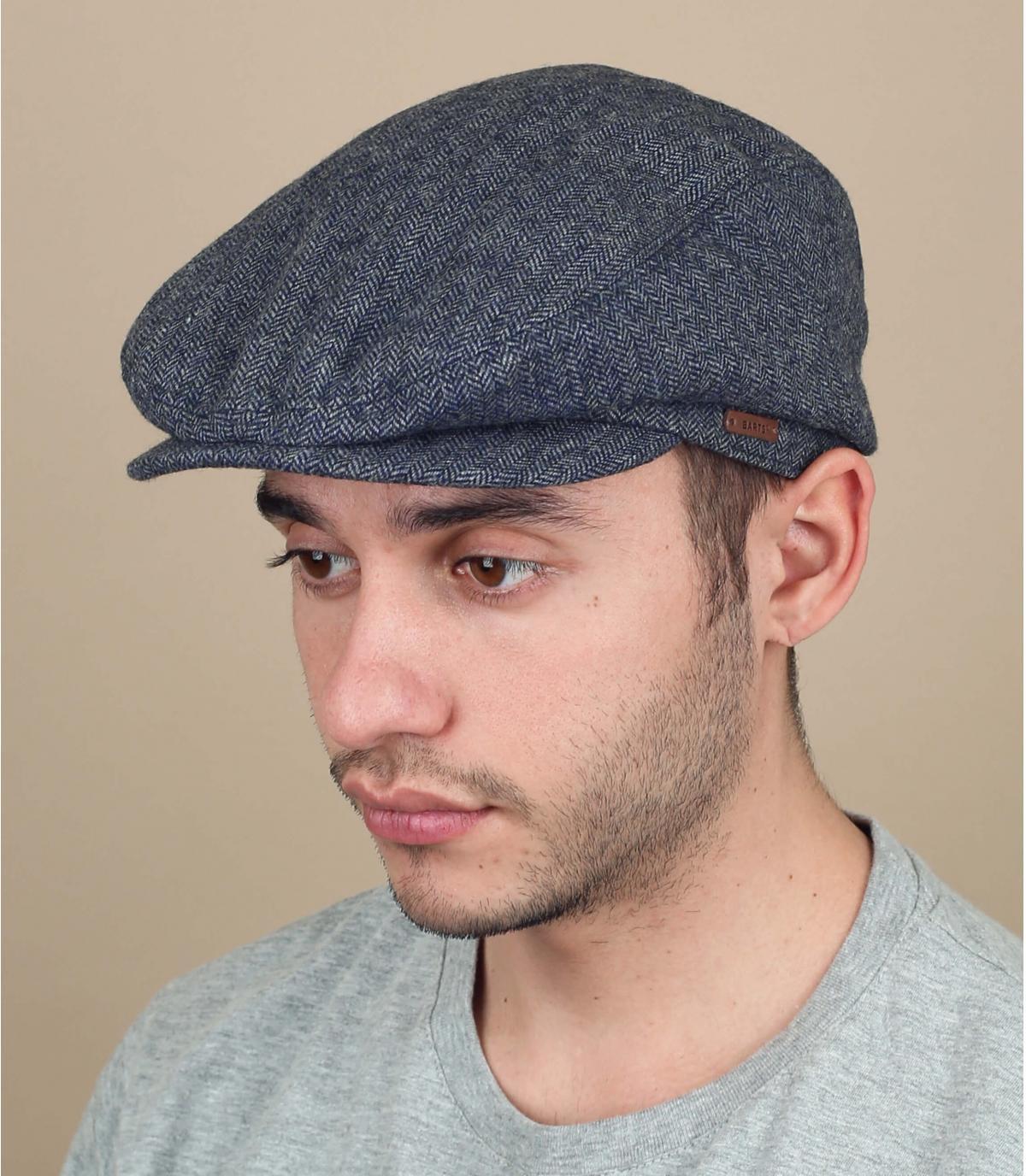 gorra lana azul Barts