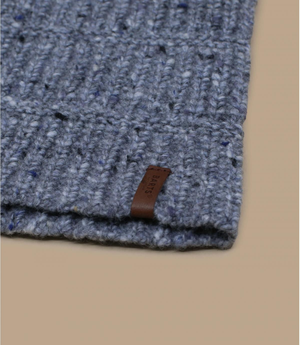 gorro largo gris lana alpaca