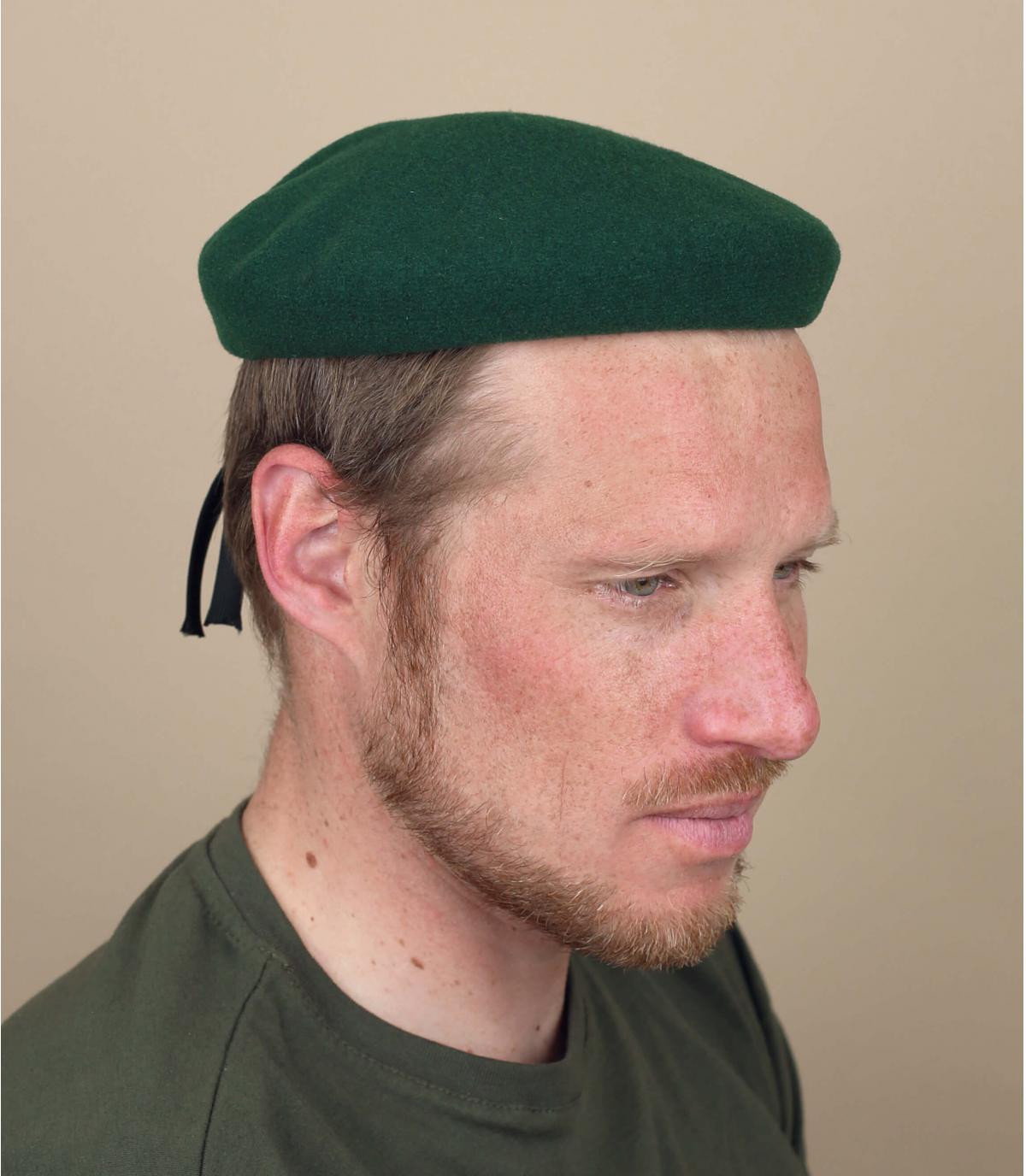 boina commando verde