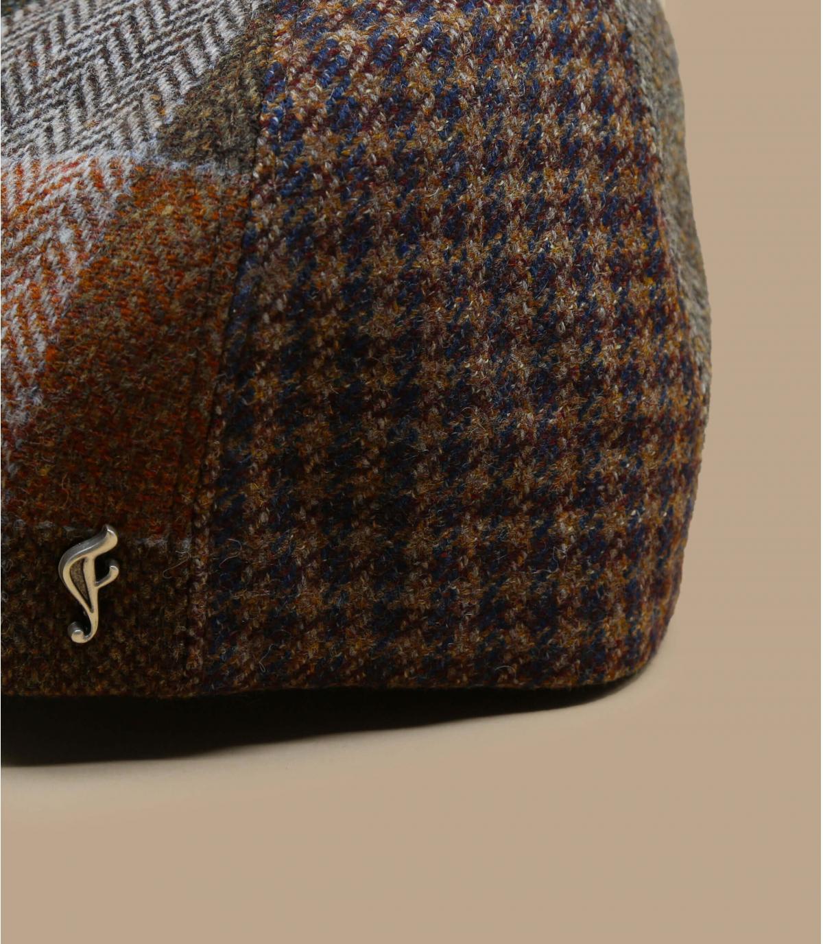 gorra marrón lana Fléchet
