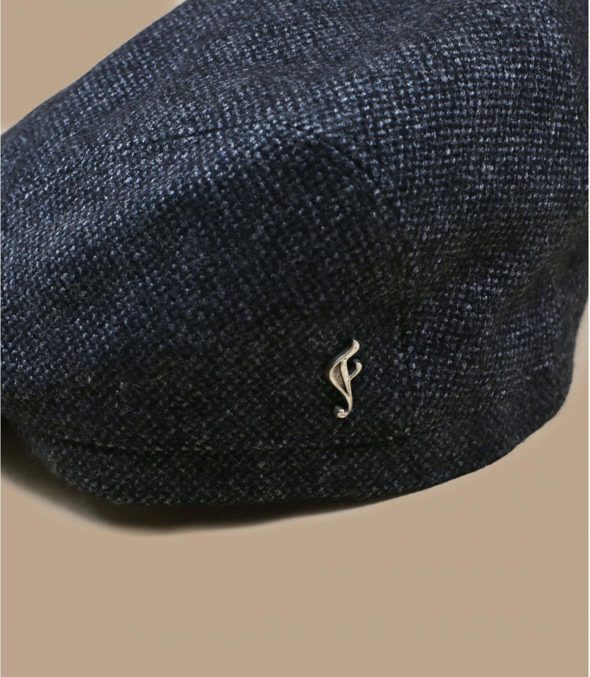 gorra gris lana ecologico