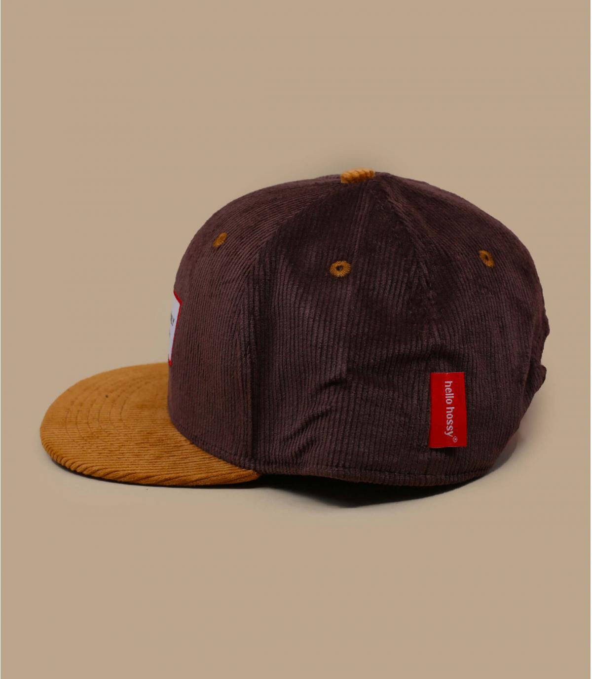 gorra infantil pana marron