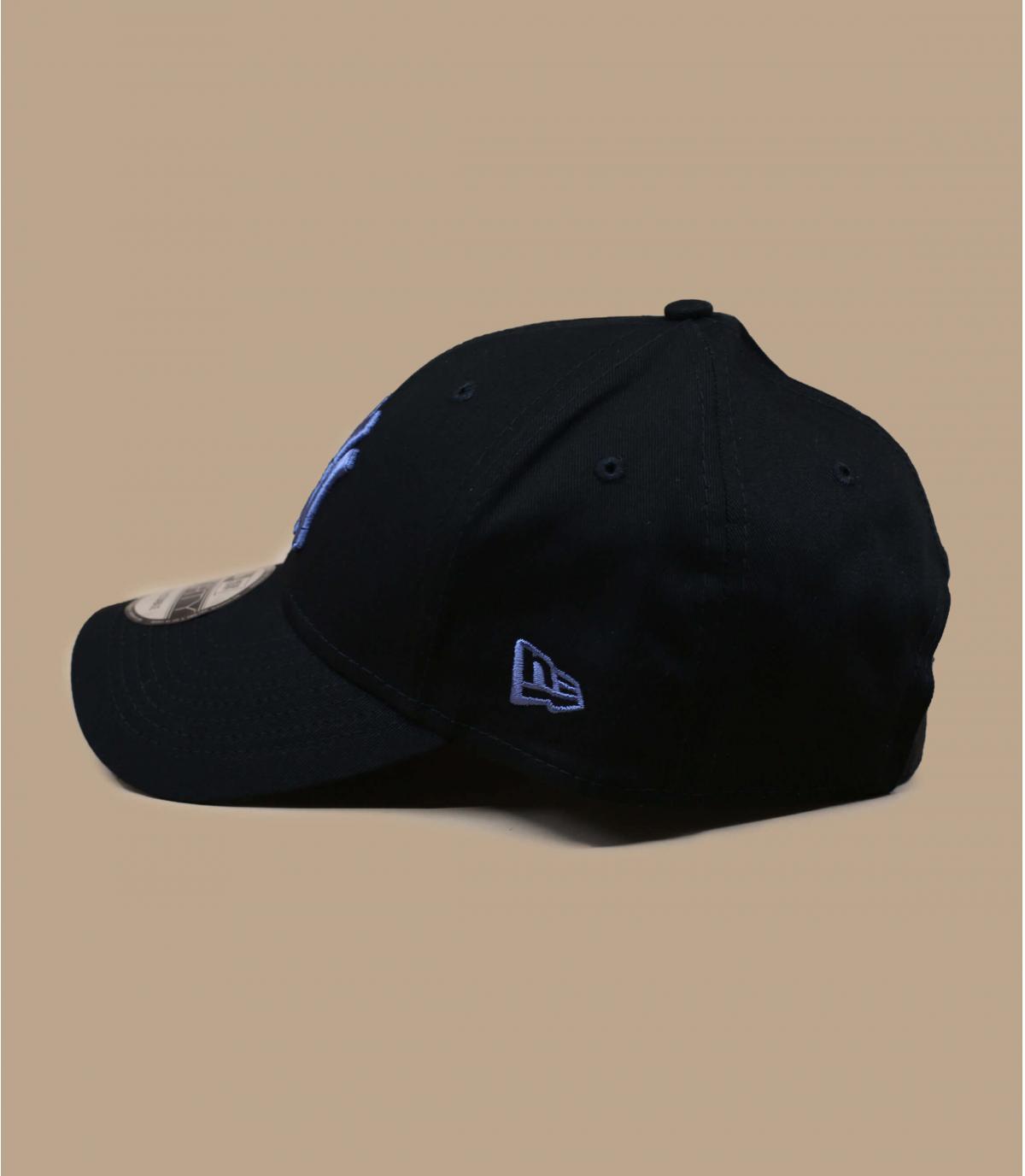 gorra NY negro azul