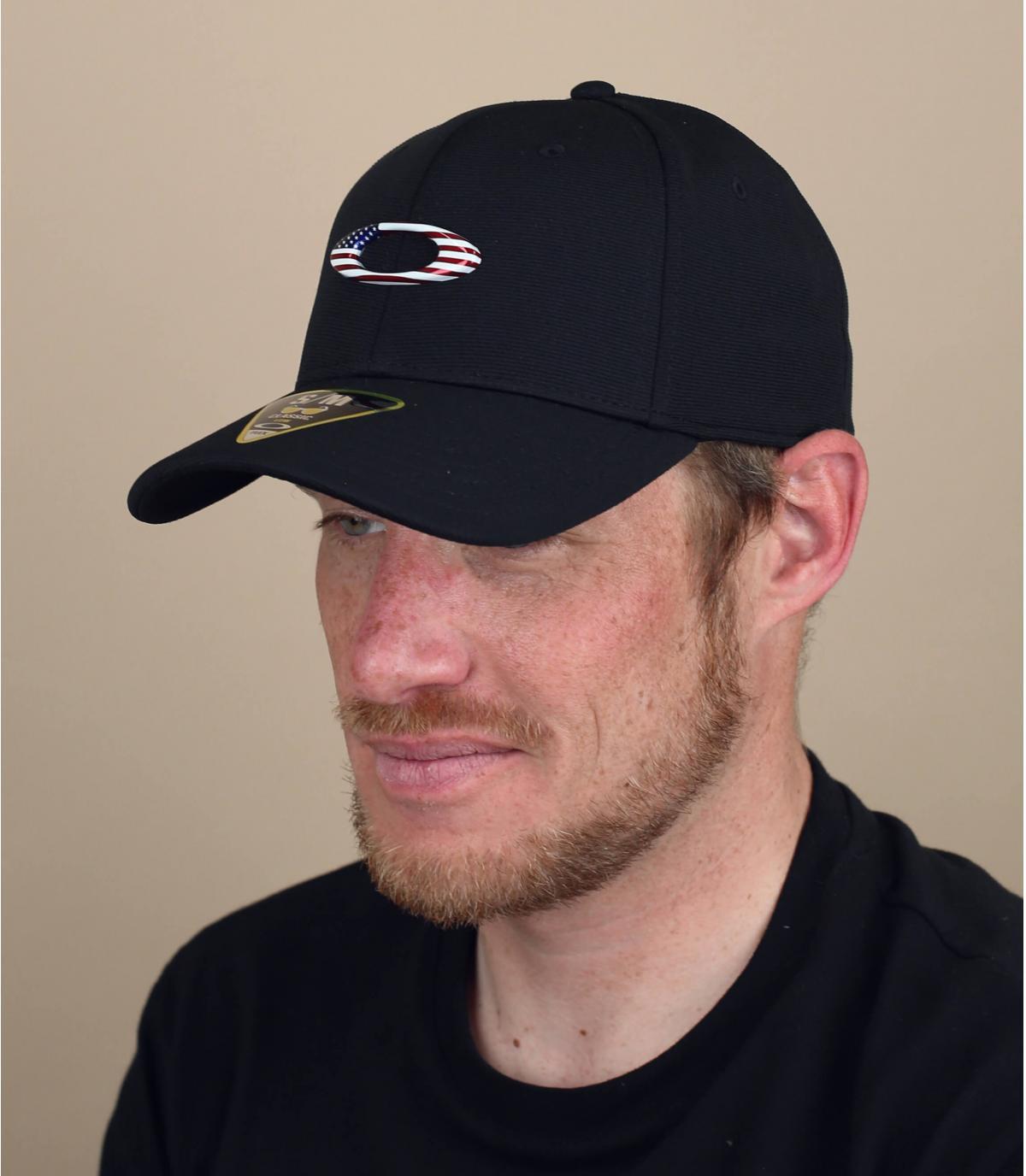 gorra curva logo Oakley