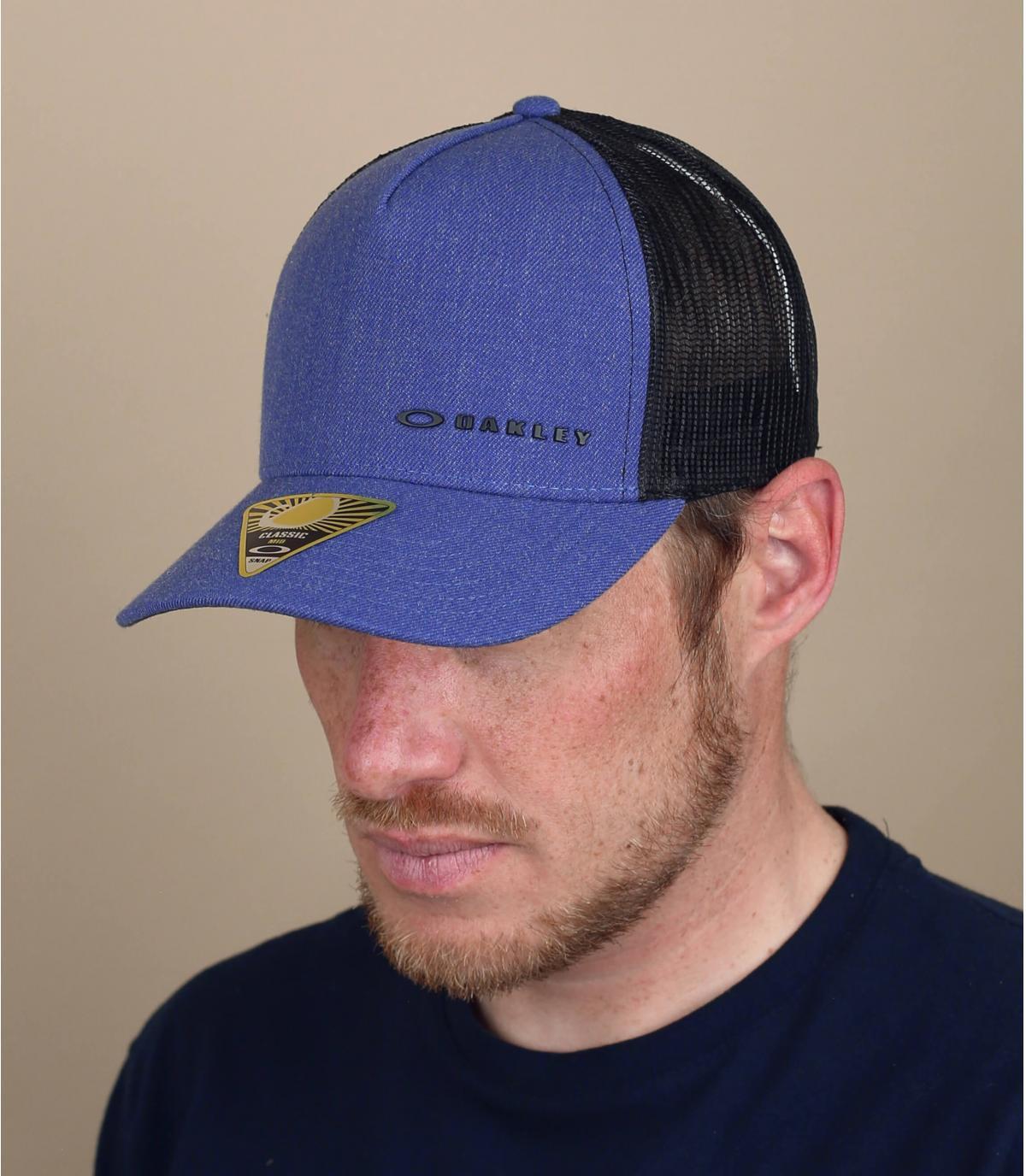 trucker Oakley azul