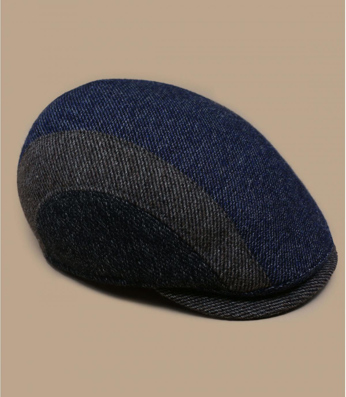 gorra lana tricolor