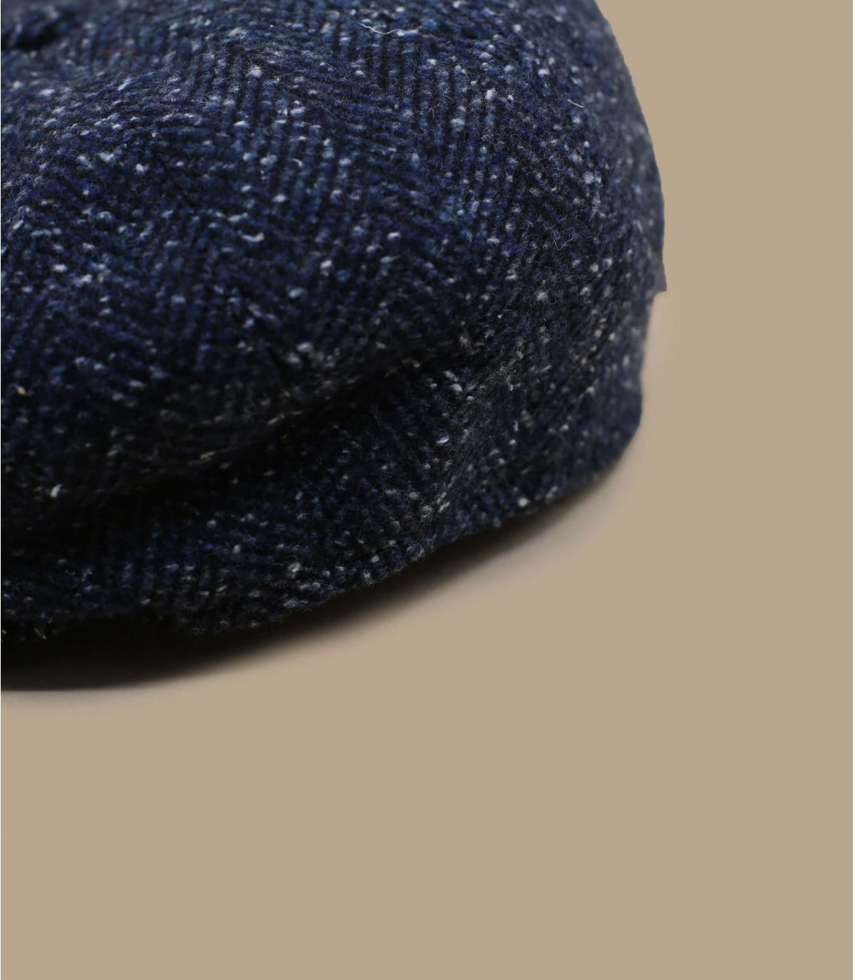 gorra repartidor azul jaspeado