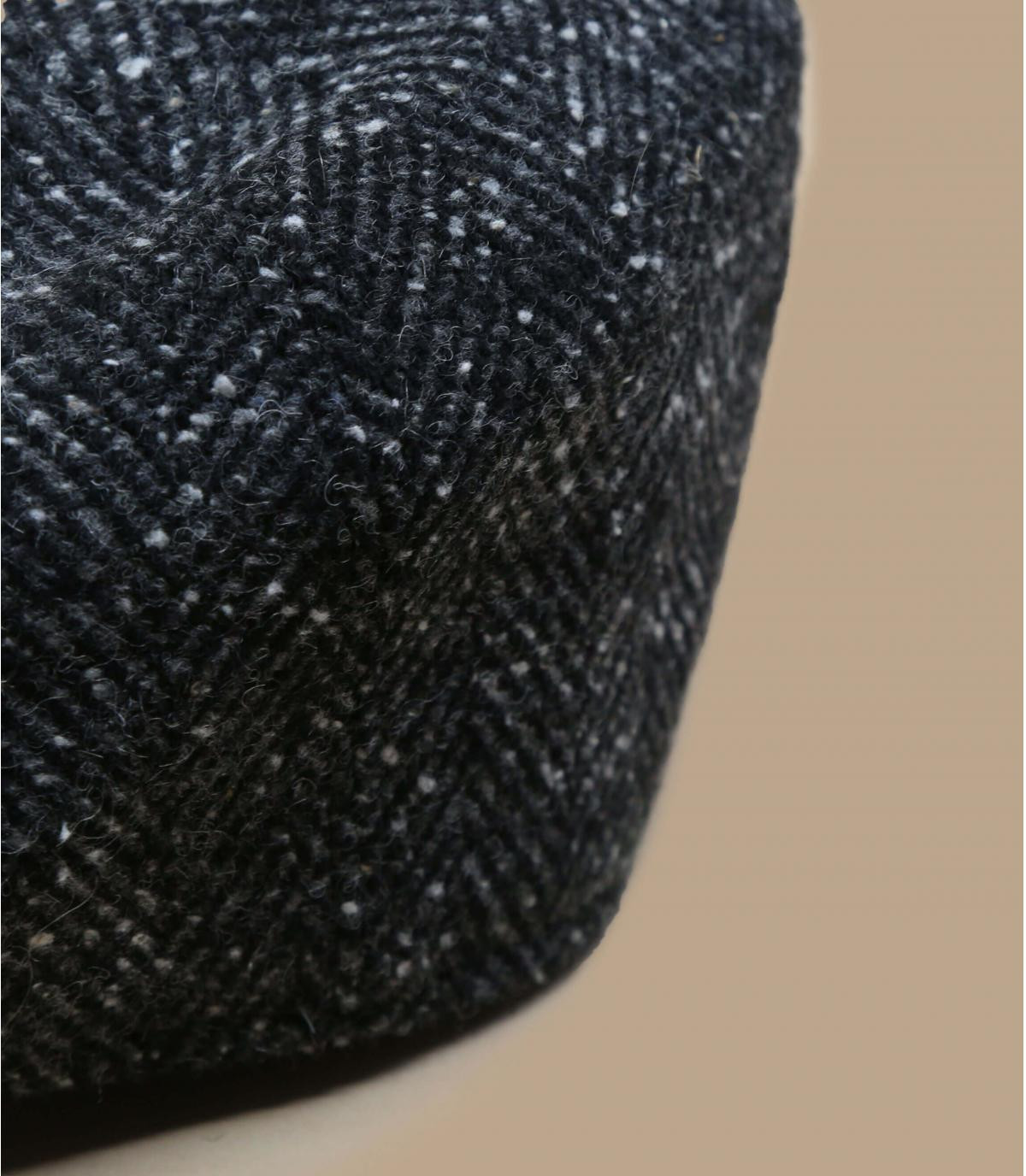 gorra repartidor negro jaspeado