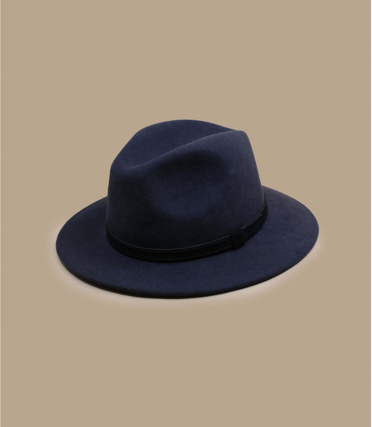sombrero gris lana