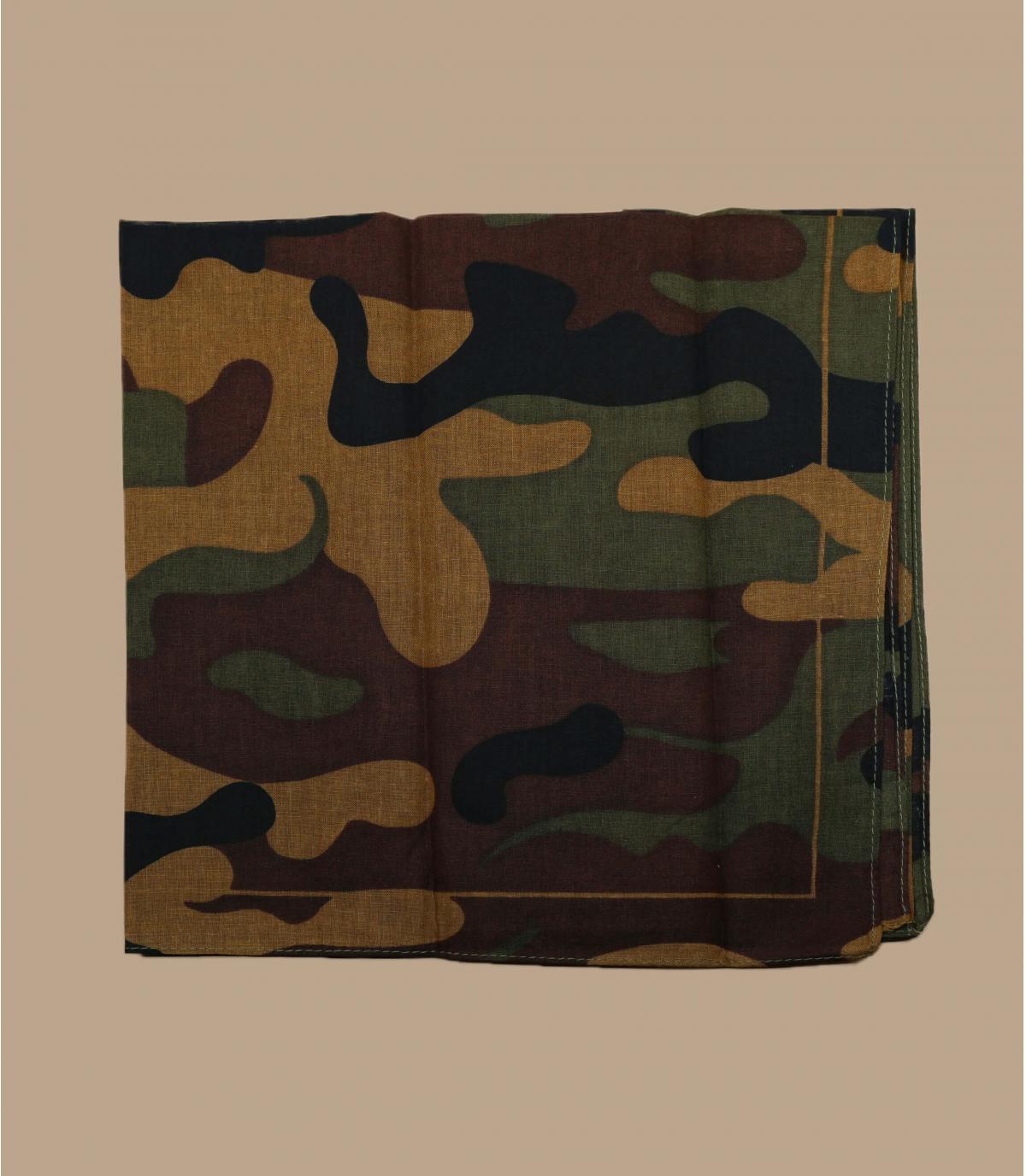 bandana camo marrón