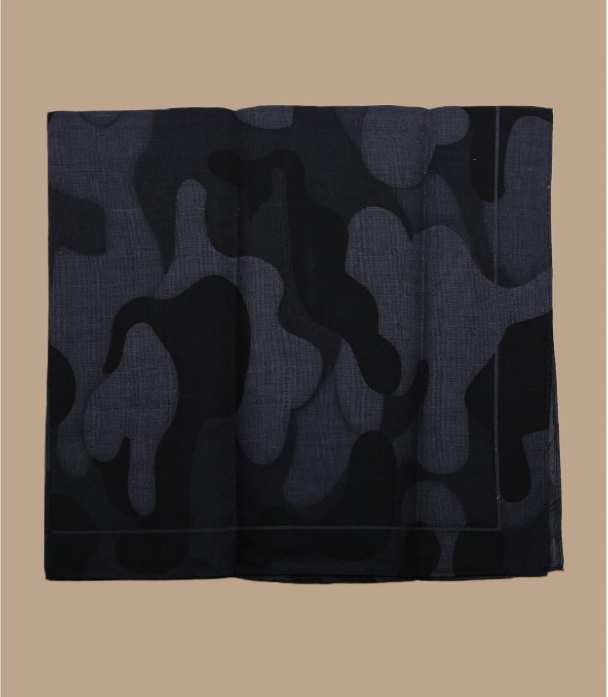 bandana camo negro