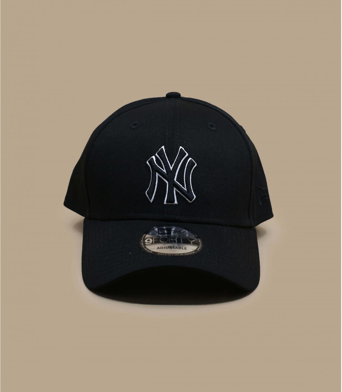 gorra NY negro