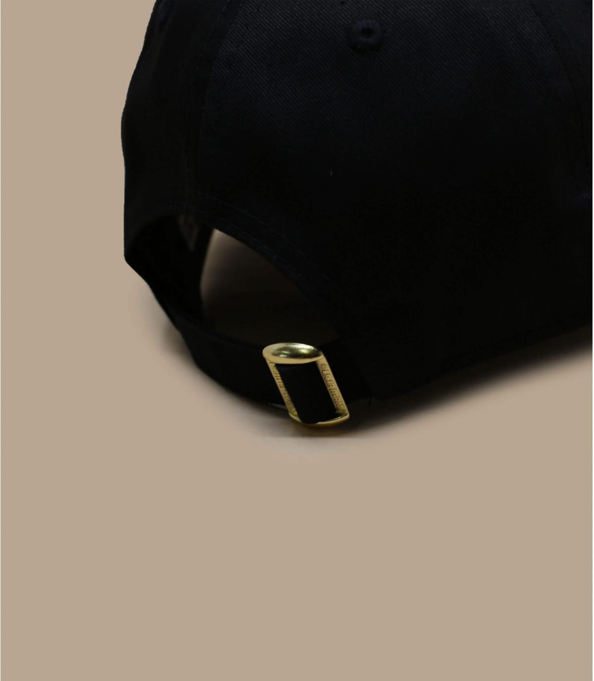 Detalles Metallic Logo 940 Bulls black gold imagen 4