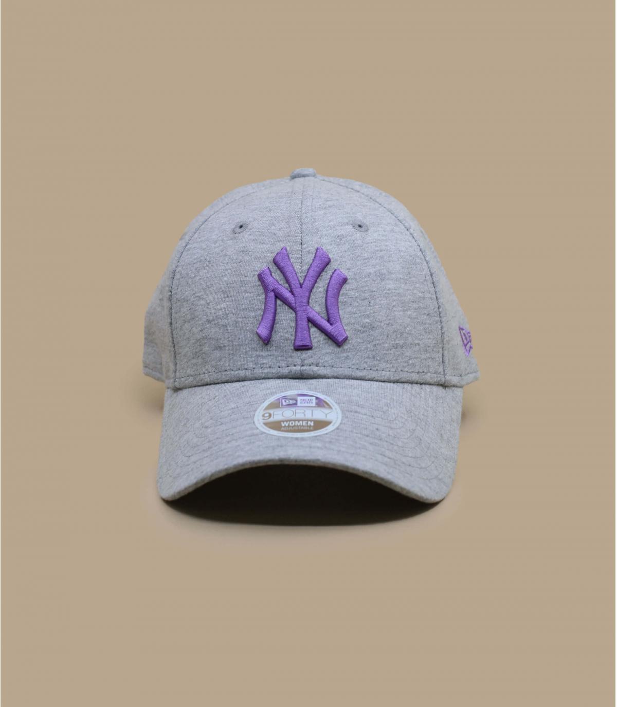 Detalles Wmn Jersey Ess 940 NY grey lavendar imagen 2
